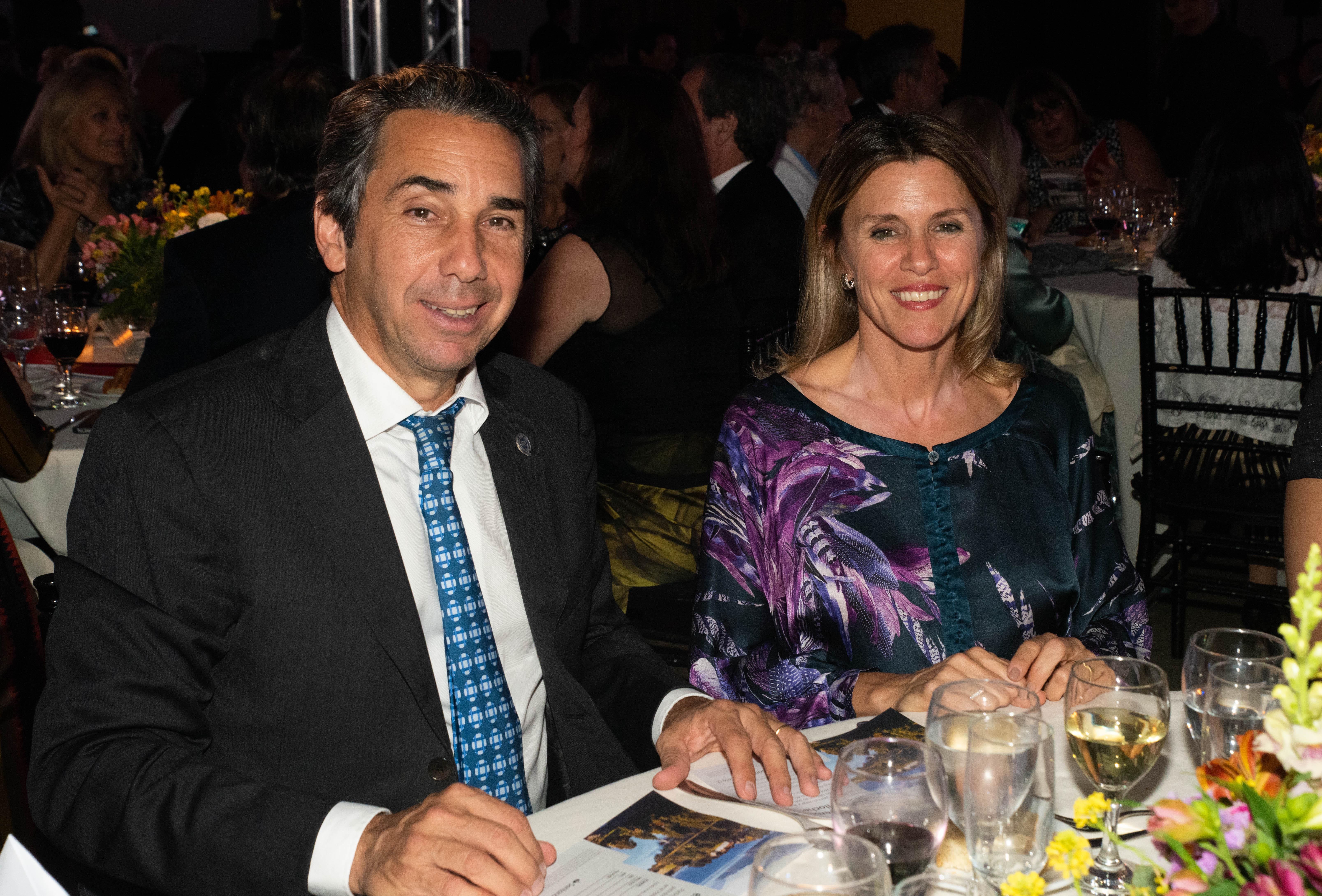 Dicky Smith Estrada y Gloria Confalonieri