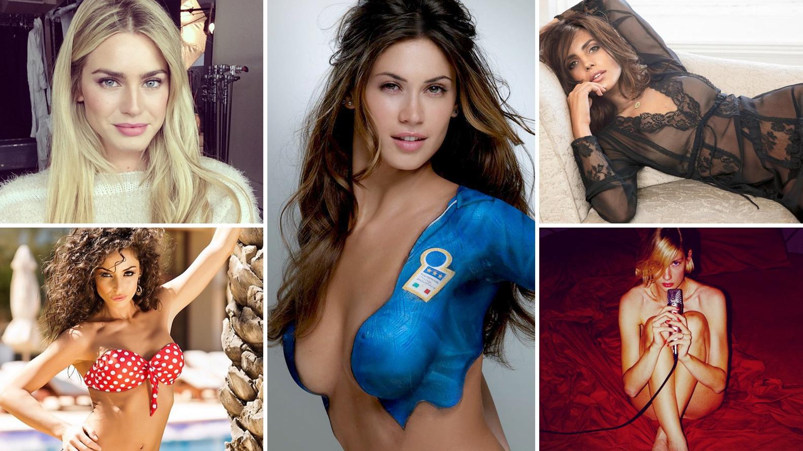 Morenitas Tetonas las 12 modelos italianas más sensuales de las redes sociales