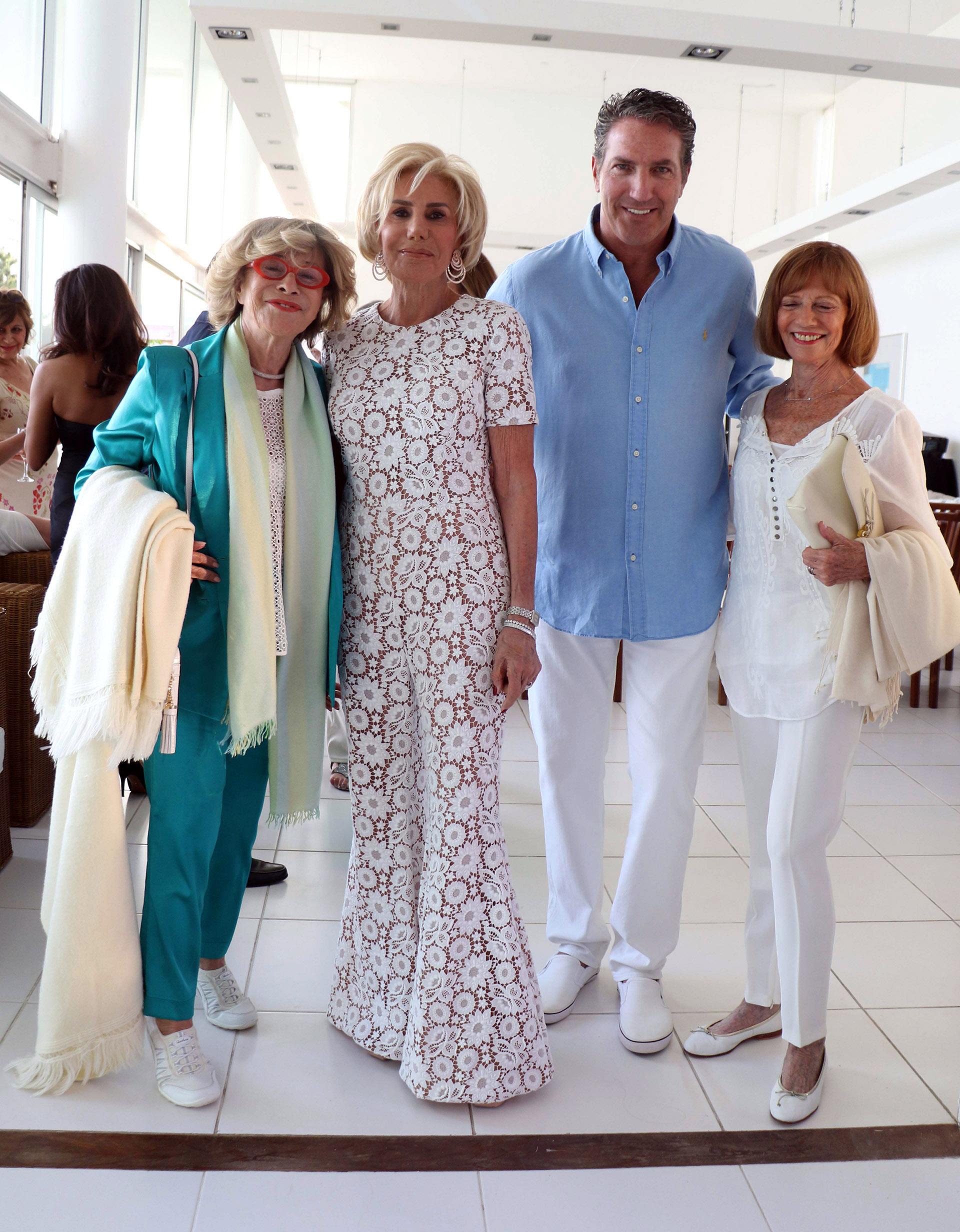 Susi Reich, Ada de Maurier y Andrés Szabo