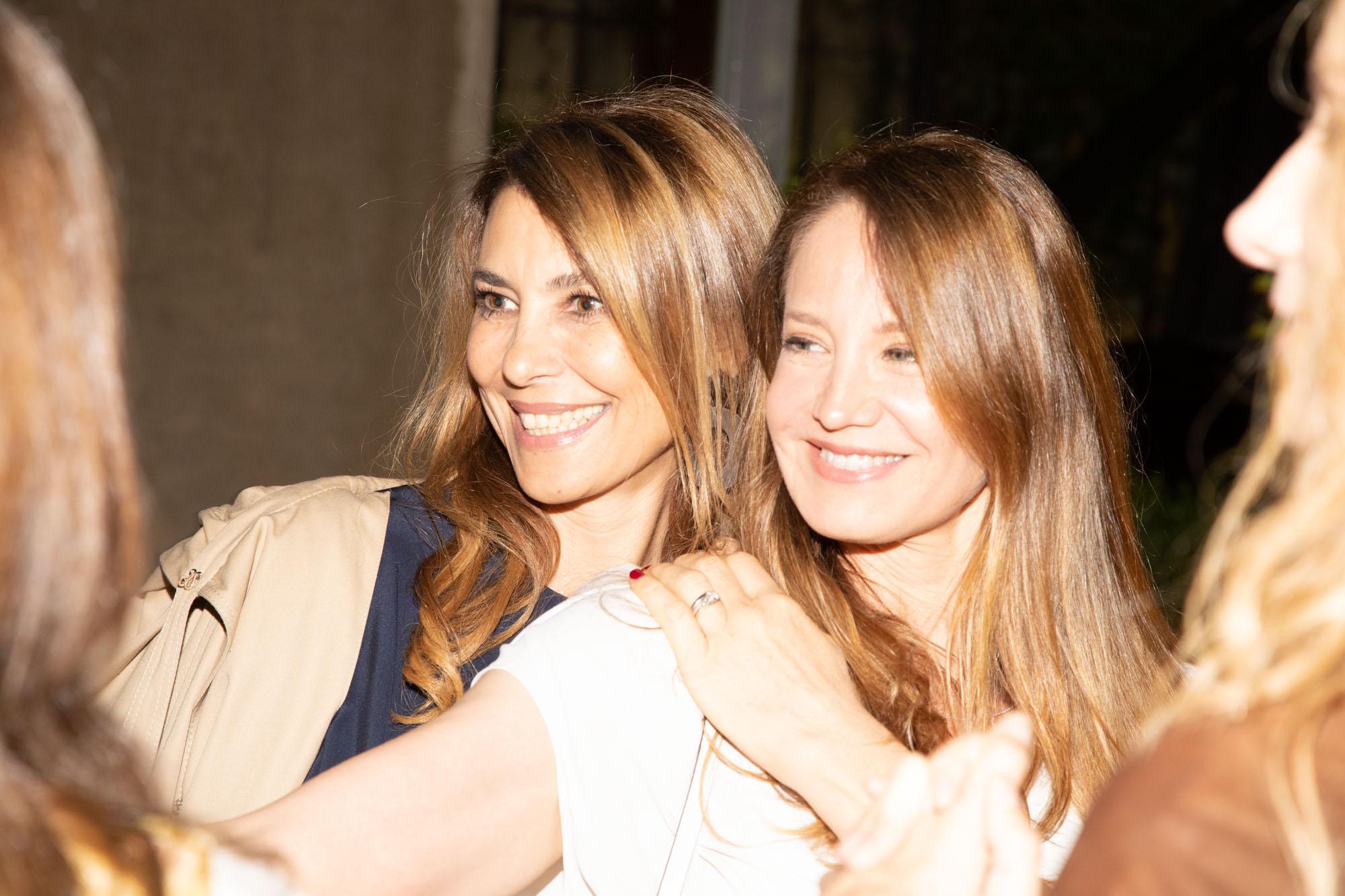 Adriana Batan de Rocca y Roxana Zarecki