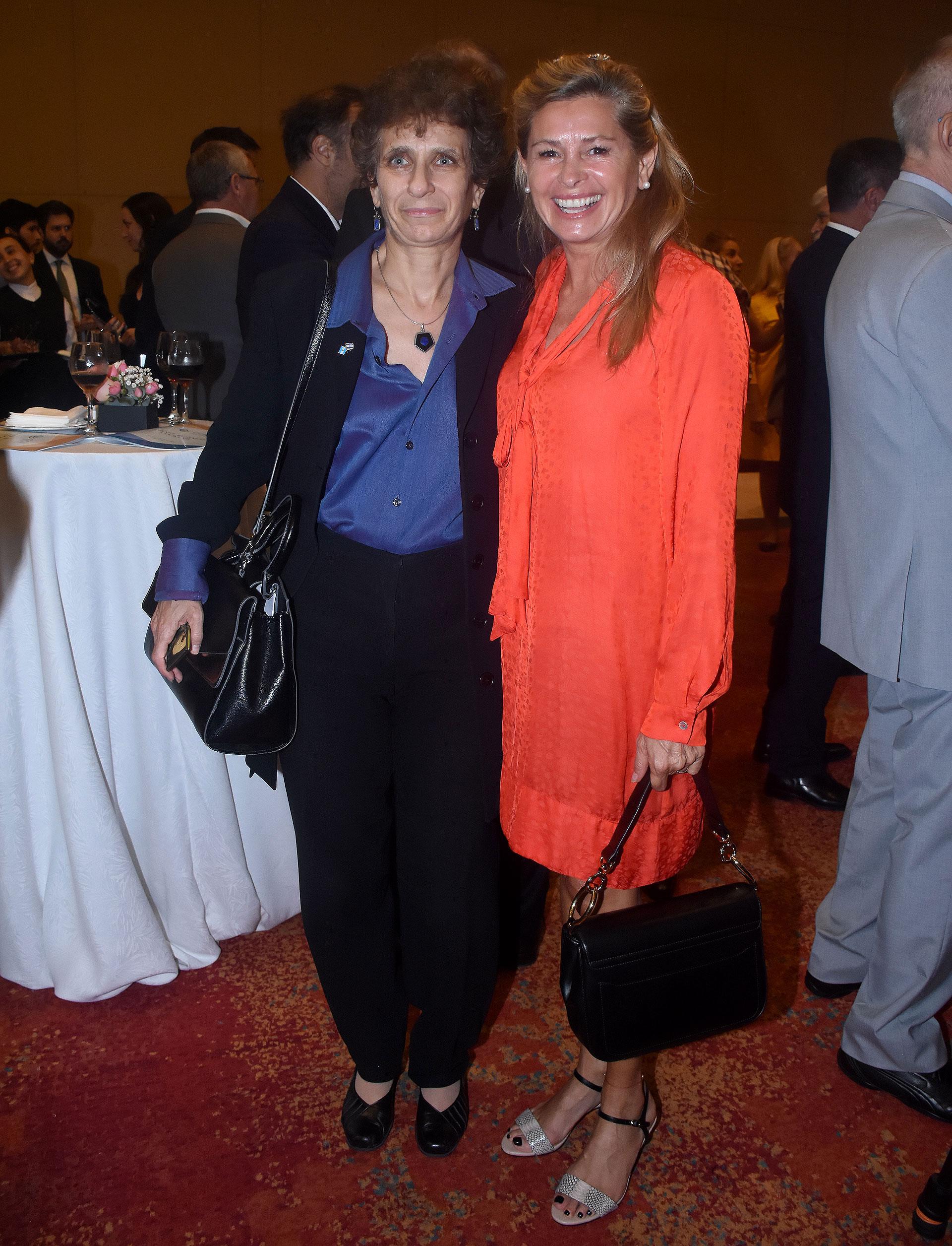 La embajadora Galit Ronen y la ex senadora María Laura Leguizamón