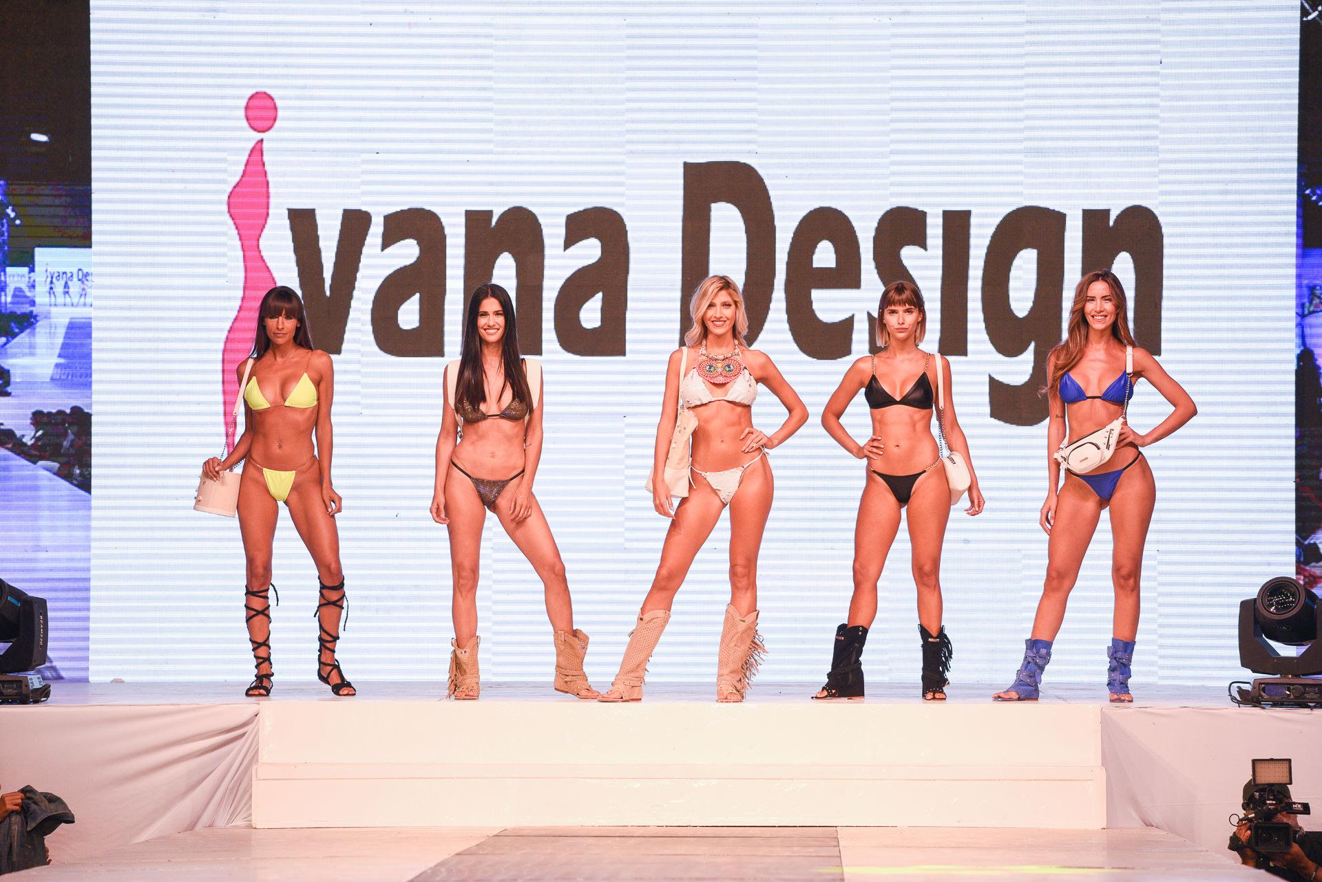 """Llegó el momento de Ivana Design con su colección """"Shine rock"""", una fusión de osadía y distinción en bikinis y sports"""
