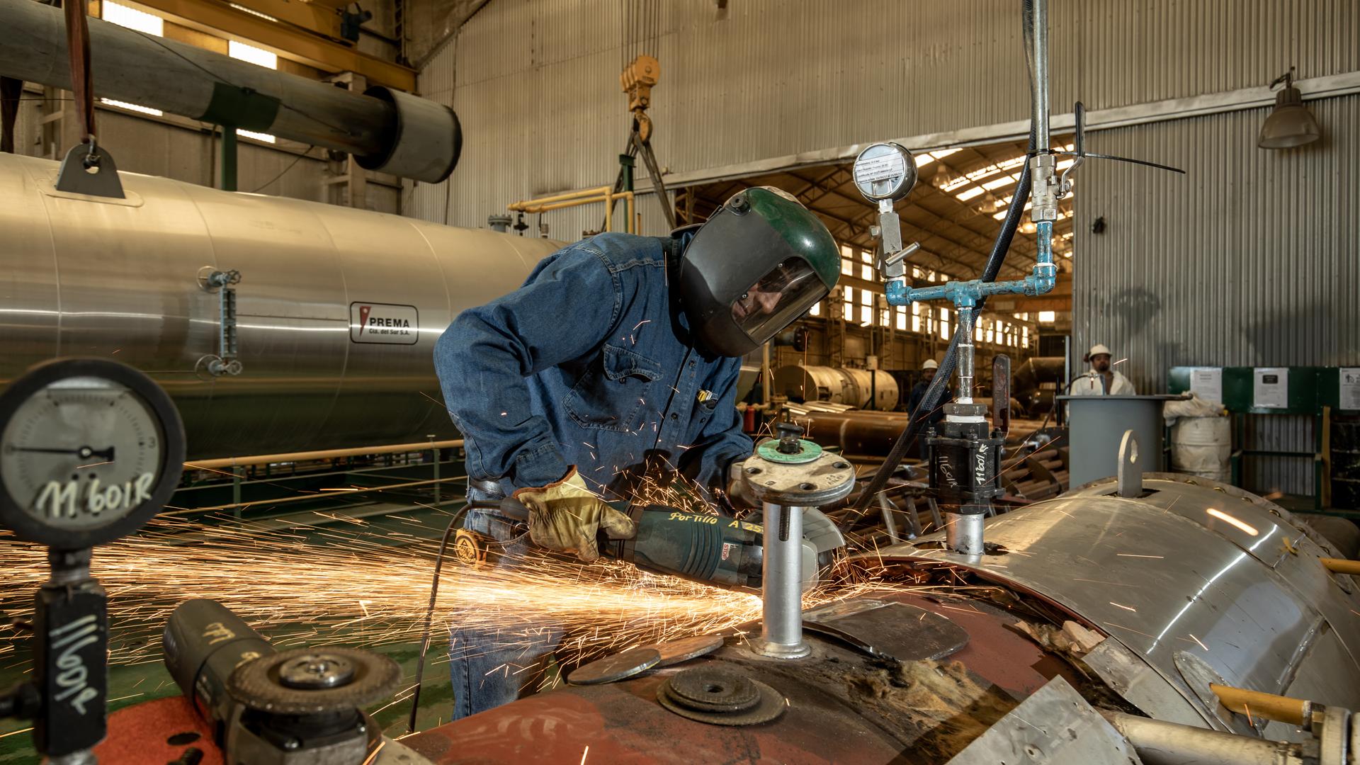 El nivel de actividad de las pymes industriales creció un 20,2% en agosto