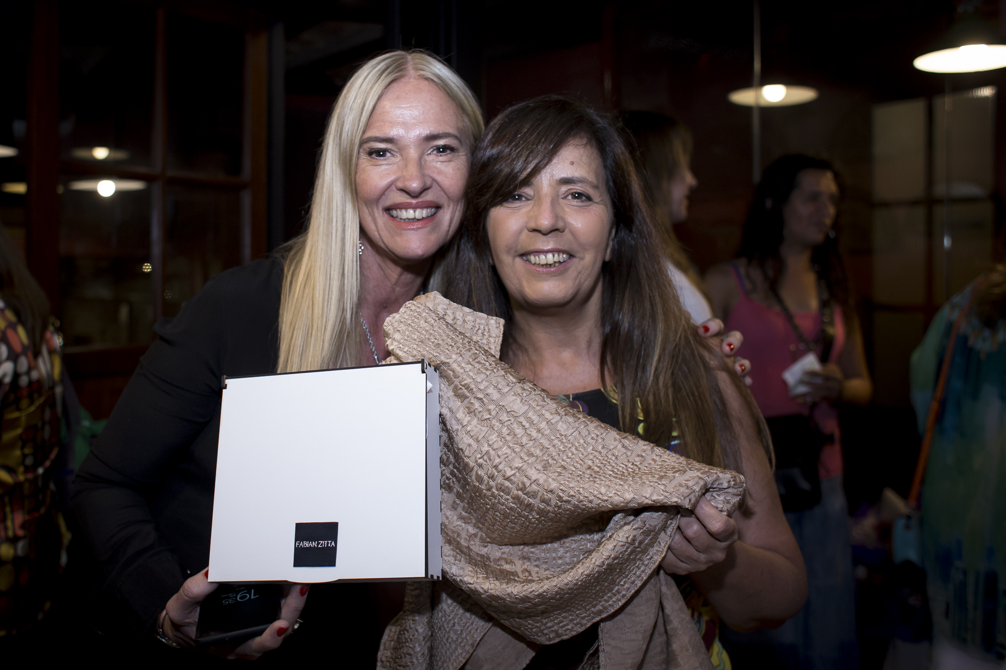 Claudia Mamic de Fundeco junto a Gabriela Cerruti