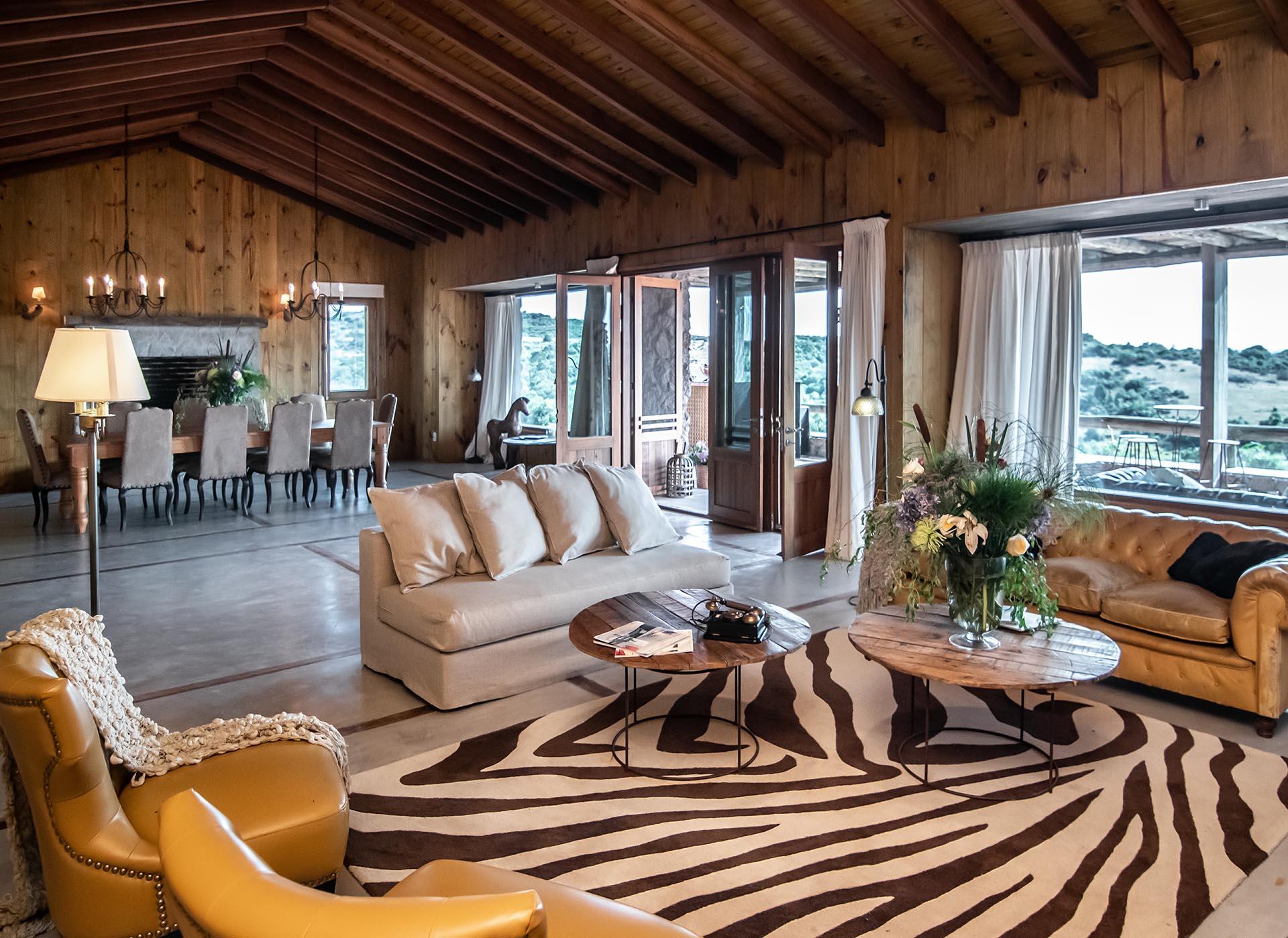Esta excepcional chacra de 800 metros cuadrados cubiertos se presta a un idílico paraíso al aire libre