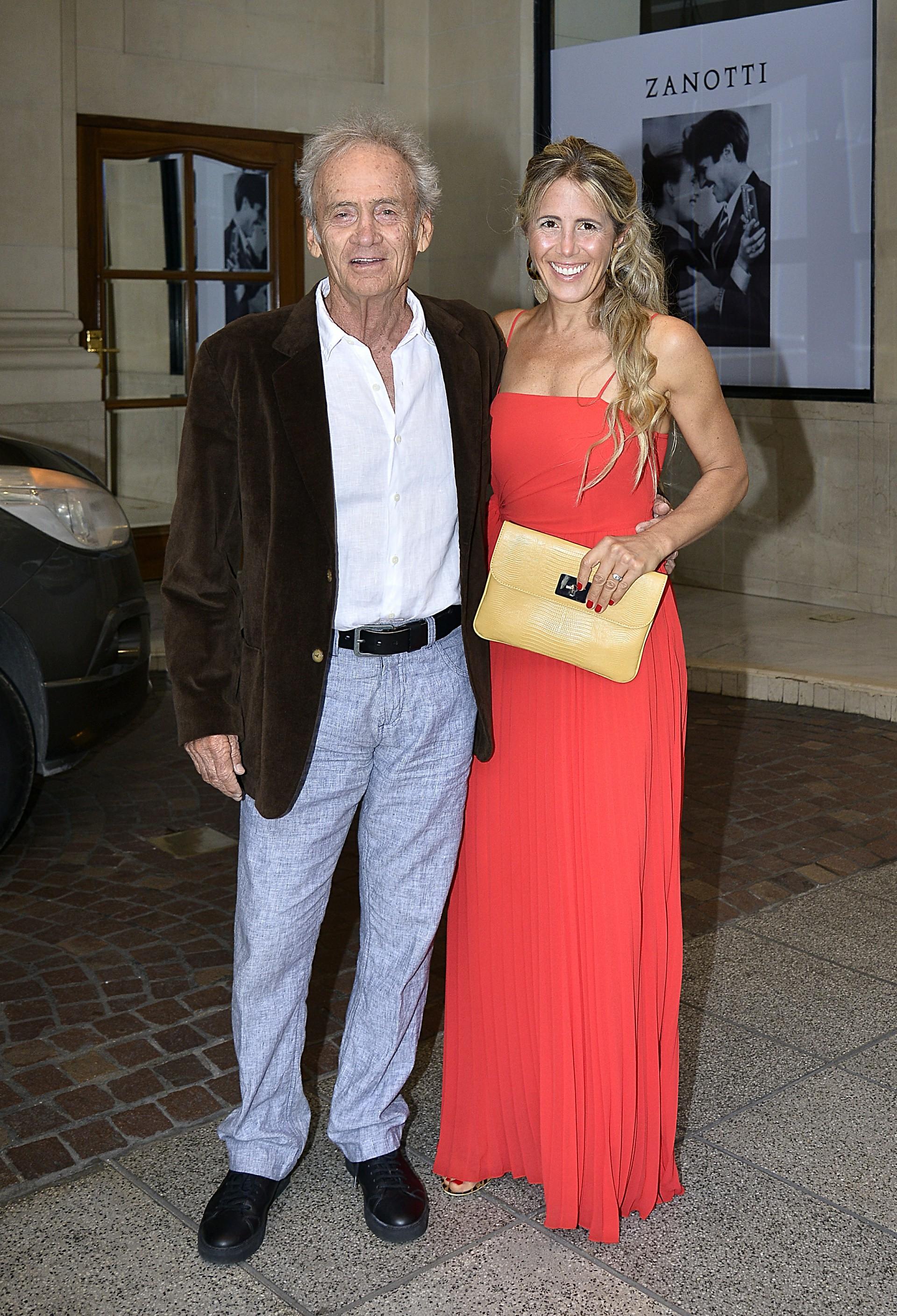 Adolfo Cambiaso (padre) y su pareja Irene Baya Casal