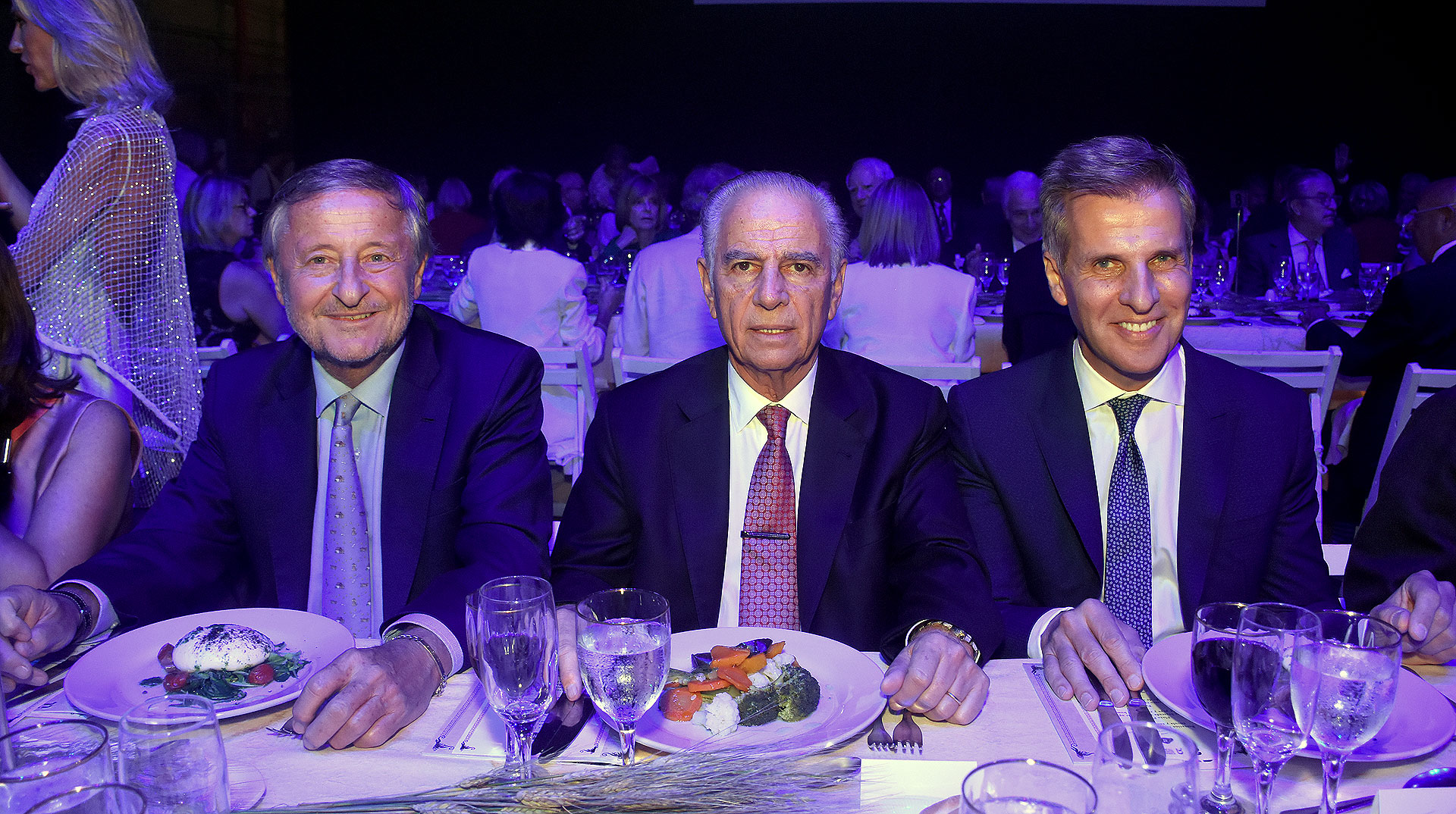 Cristiano Rattazzi, Alejandro Bulgheroni y Martín Redrado