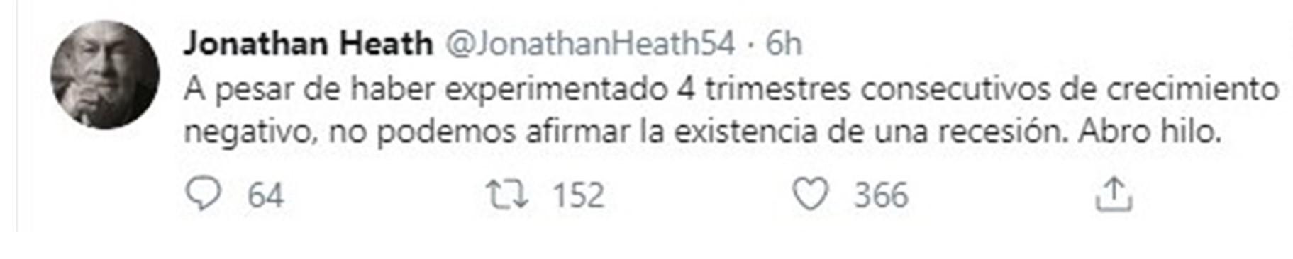 Jonathan Heath (Foto: Twitter@JonathanHeath54)