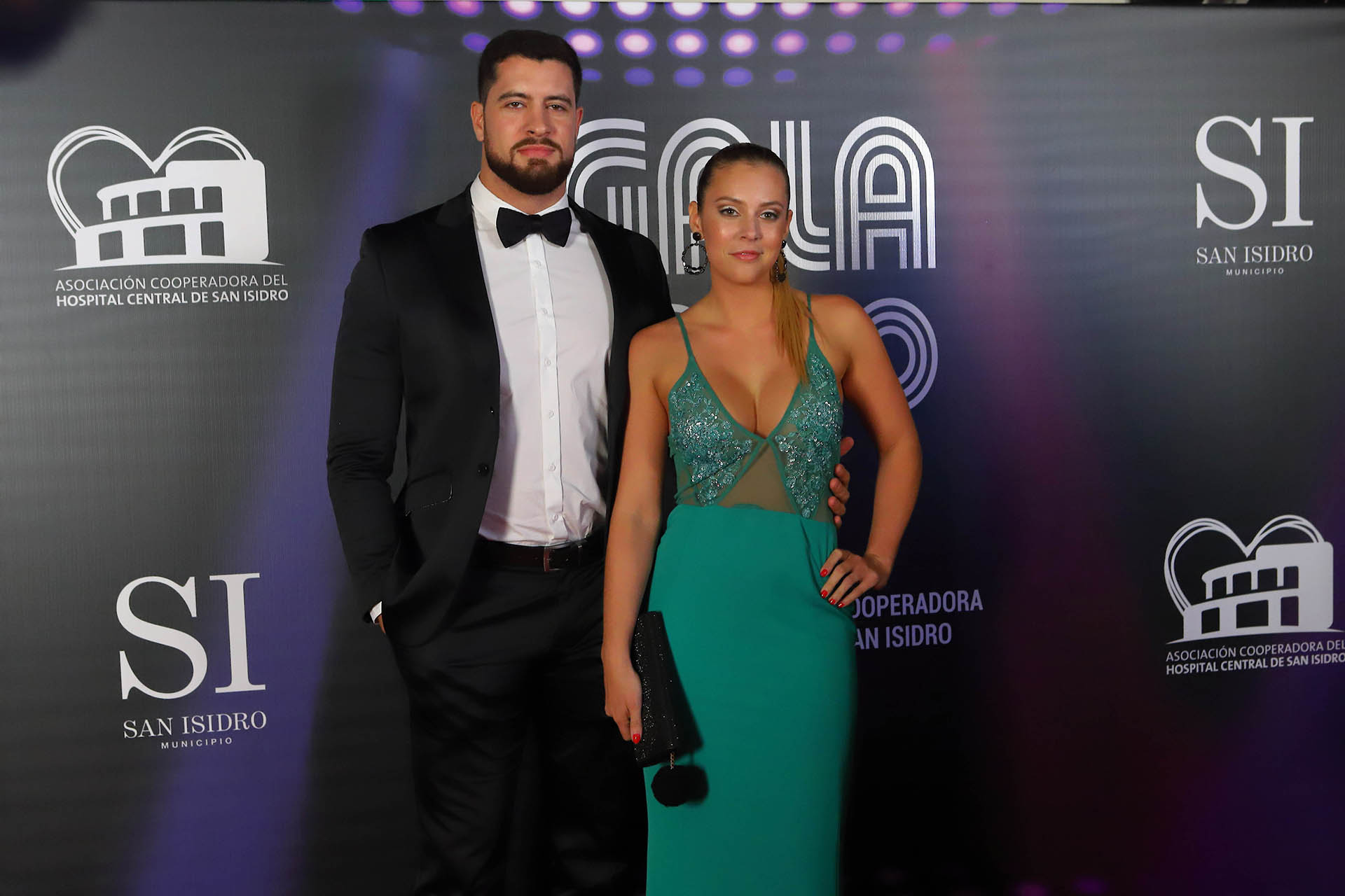 Macarena Posse y su pareja