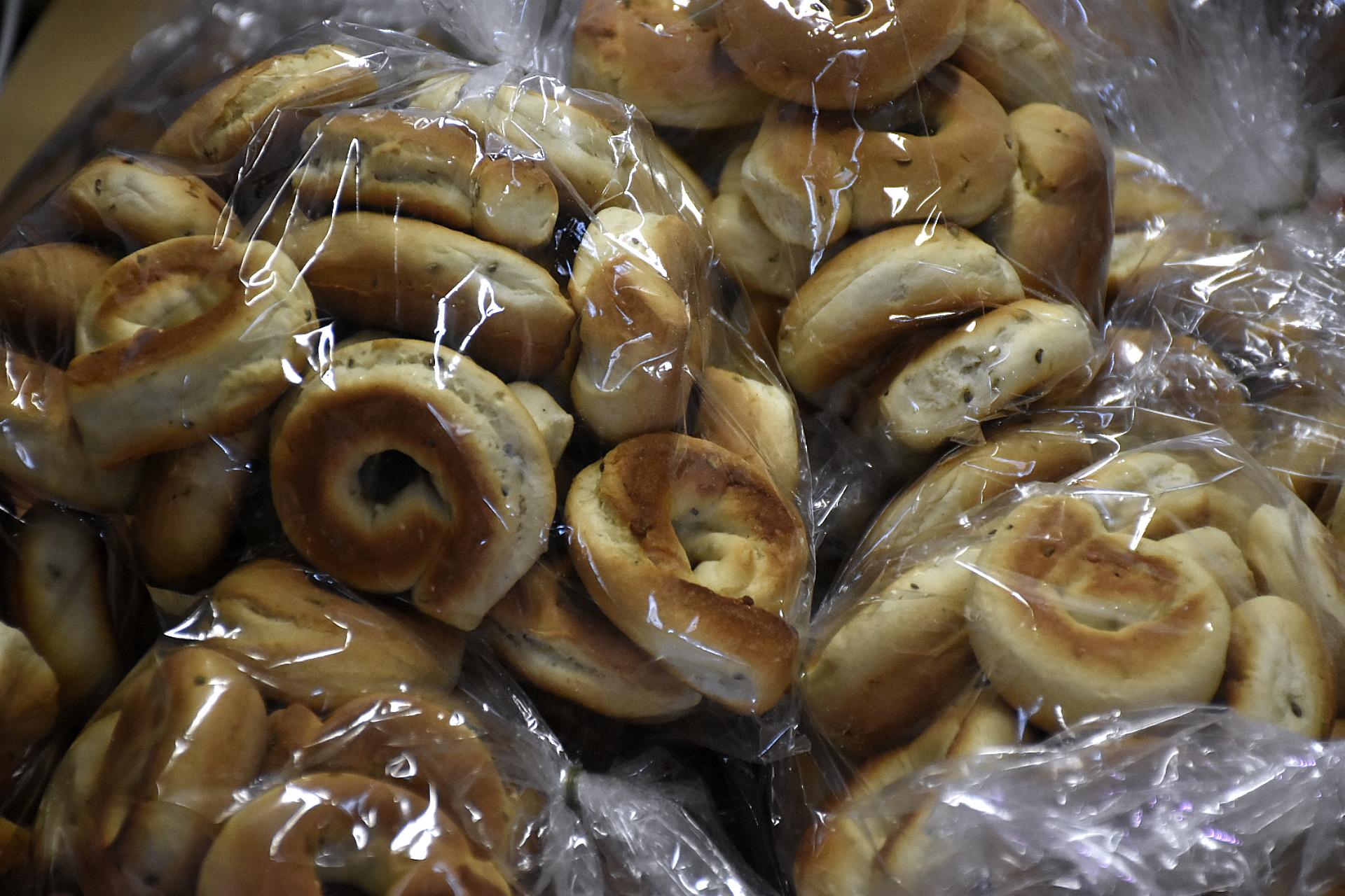 No solo hubo puestos fijos, también un importante mercado con productos típicos para comprar y llevarlos a casa y recrear recetas italianas
