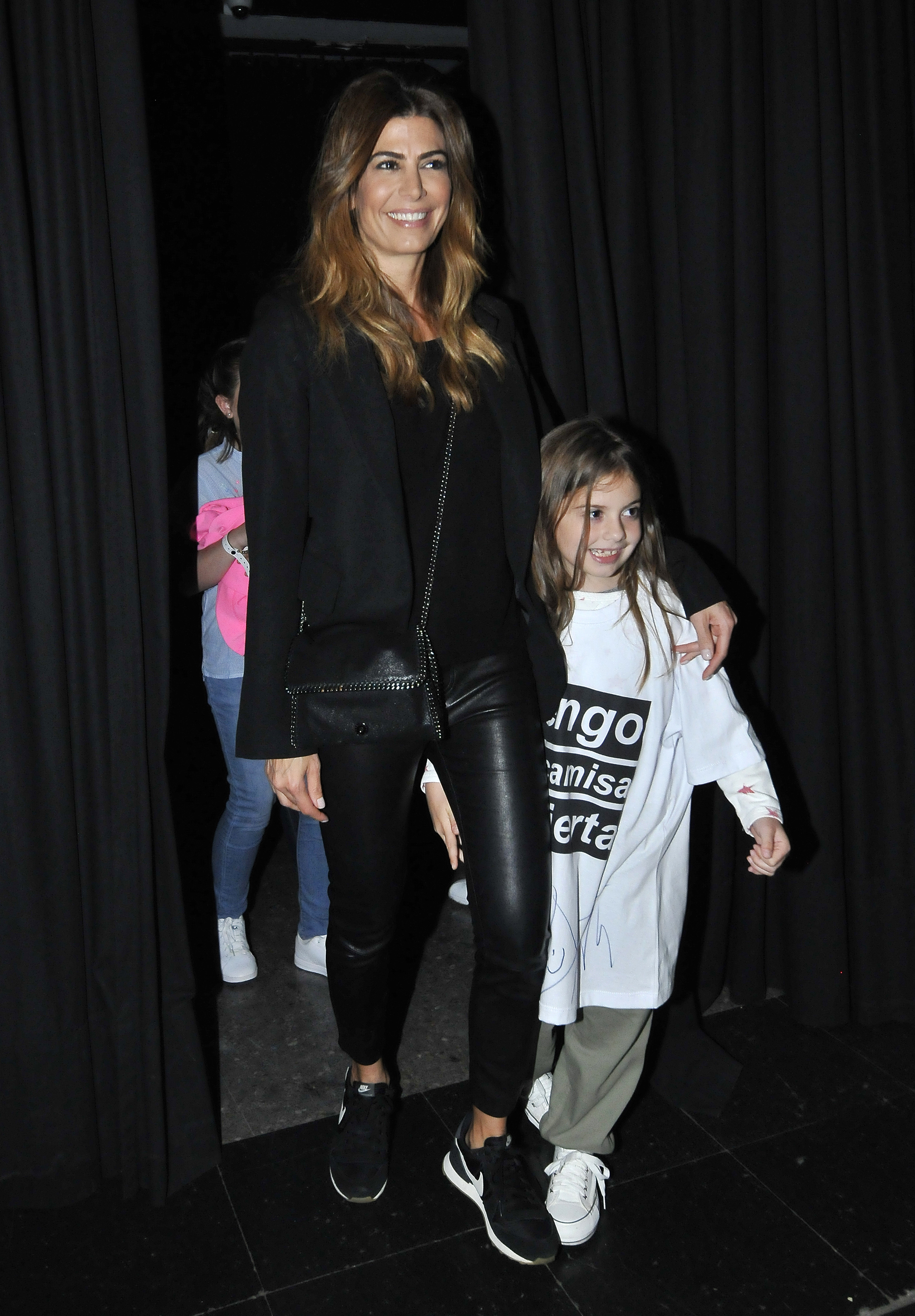 Juliana Awada junto a su hija Antonia