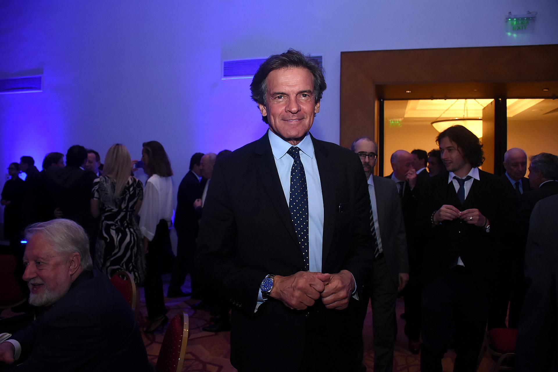 El periodista y conductor Claudio Rígoli