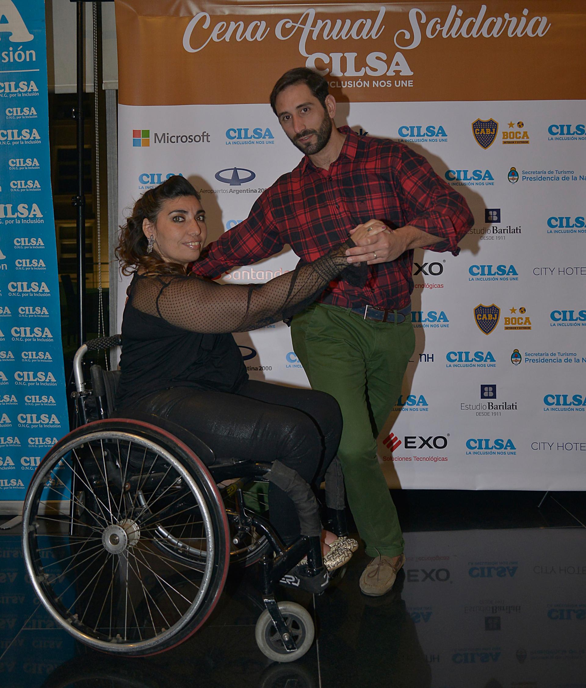La organización no gubernamental CILSA, que trabaja por la inclusión por las personas con discapacidad desde hace 53 años, realizó la Primera Cena Solidaria Anual