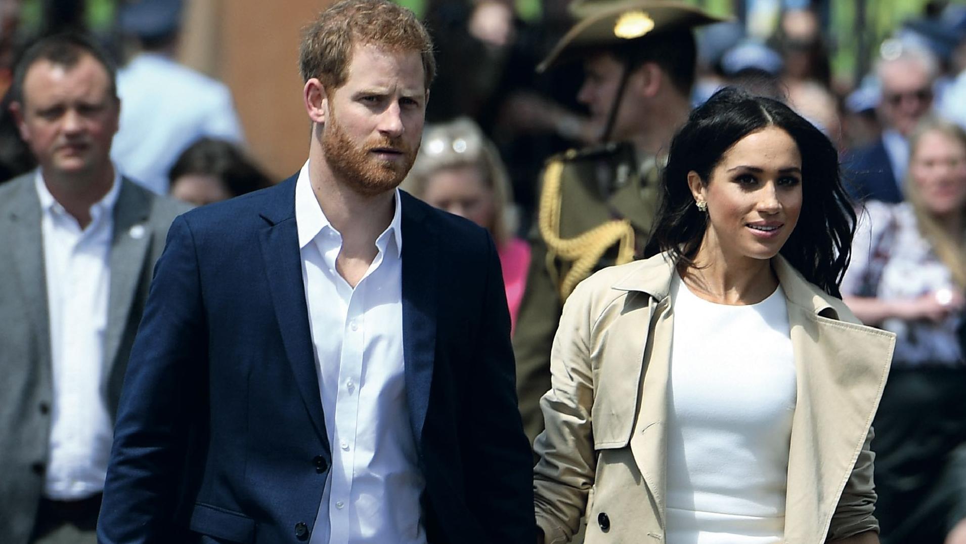 Los duques de Sussex renunciaron a sus deberes reales en enero (AFP)