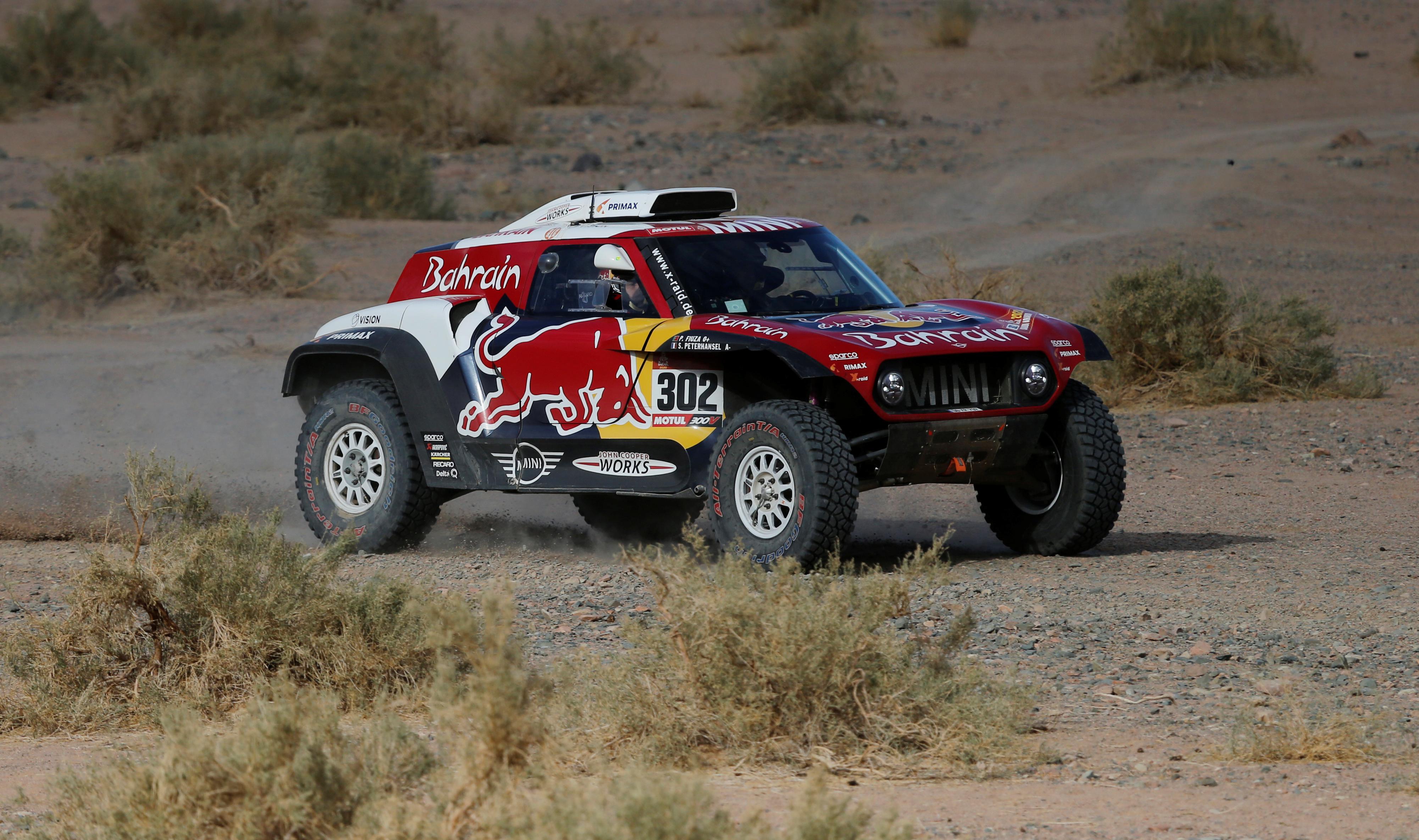 El francés Stéphane Peterhansel (Mini) firmó su primera victoria en el Dakar 2020, ganando este miércoles la cuarta etapa que unió a Neom con Al-Ula, en Arabia Saudita