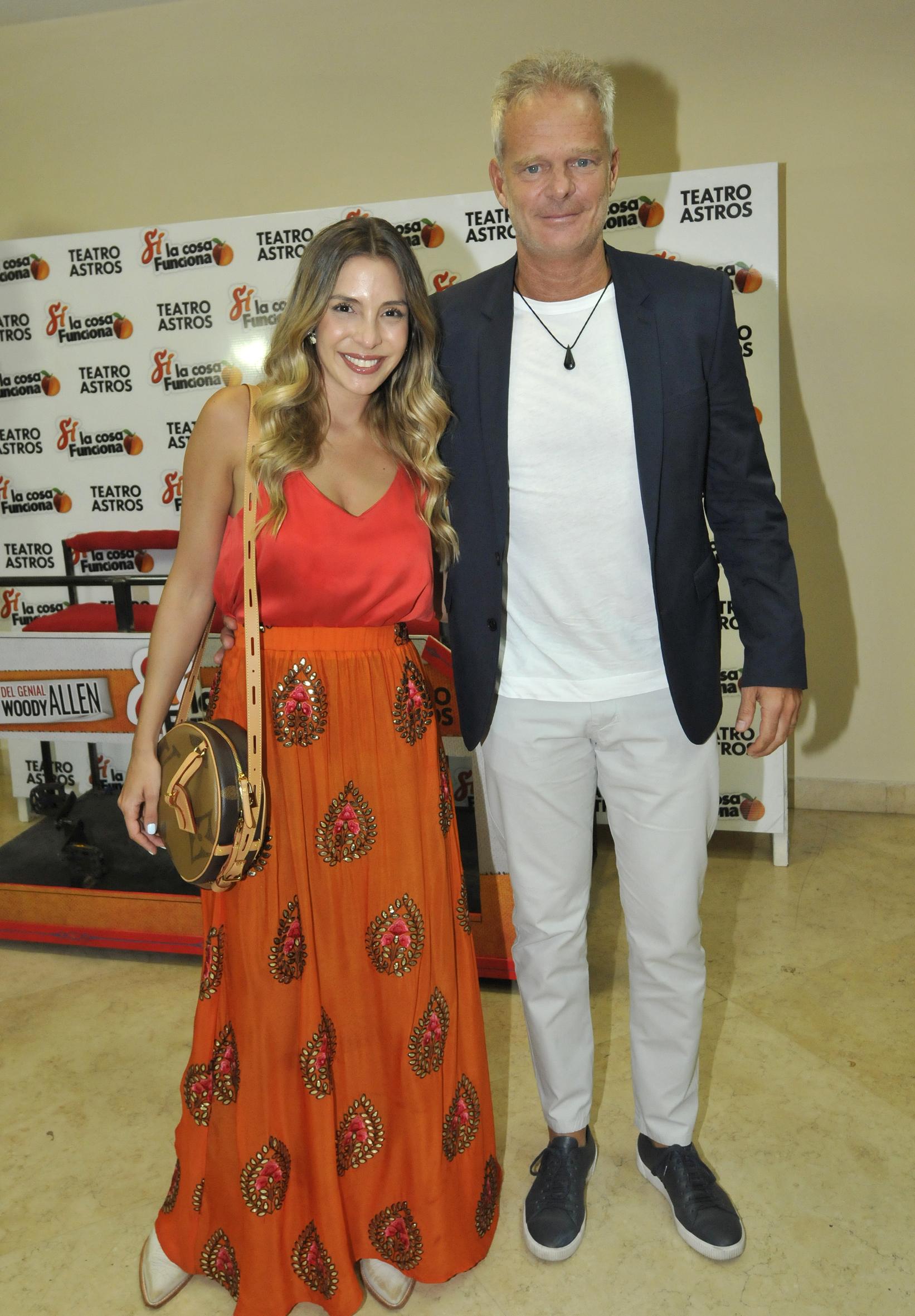 Luisa Drozdek y su marido Hernán Nisenbaum
