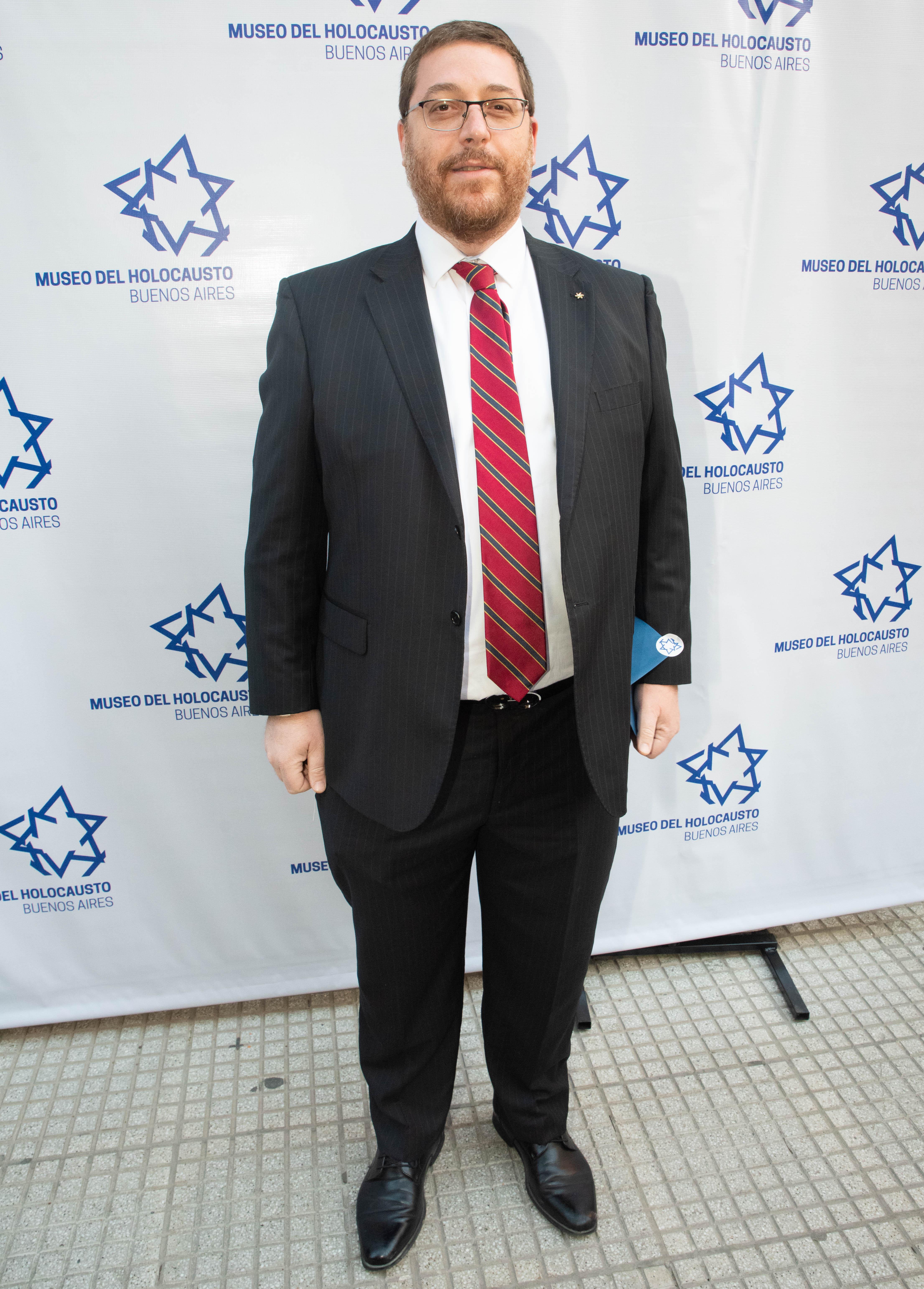 Ariel Eichbaum, presidente de la AMIA