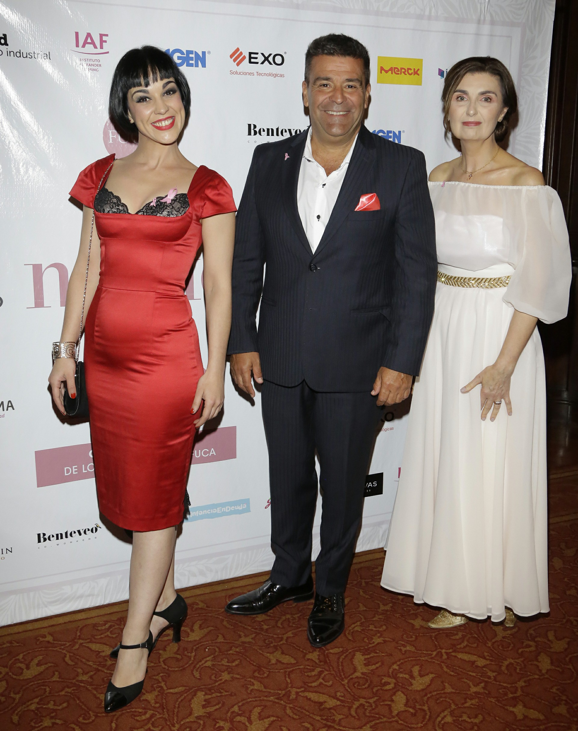 Dolores Bávaro, Chiqui Abecasis y Gabriela Berta