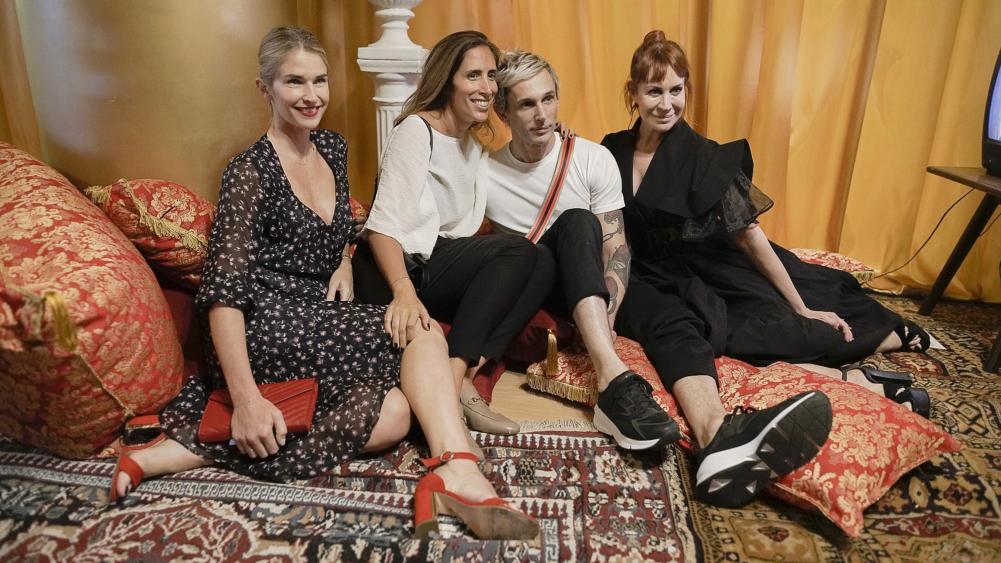 Julieta Spina, Florencia Perotti, Fabián Paz y Matilda Blanco