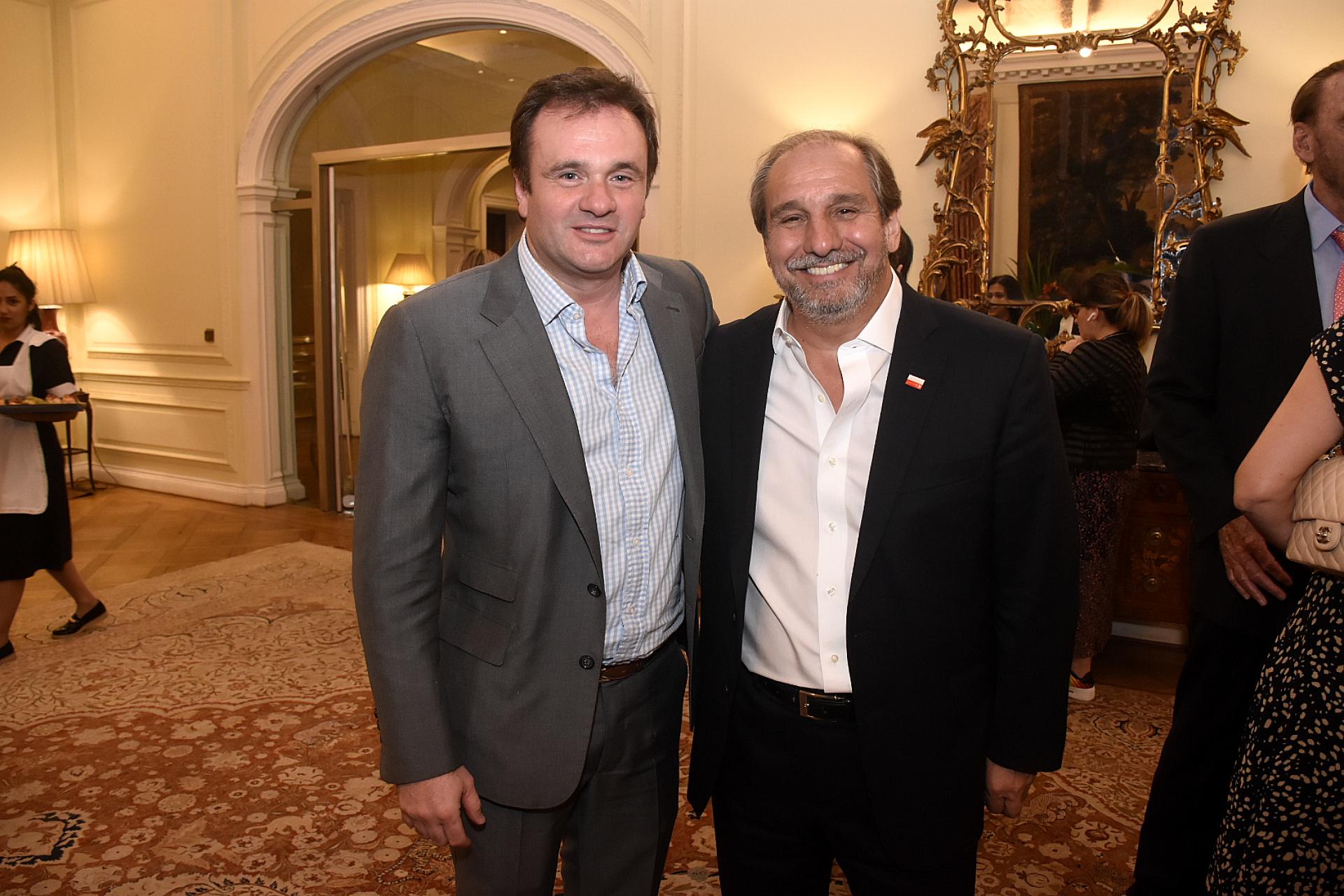 Juan Pablo Maglier y Nicolás Caputo
