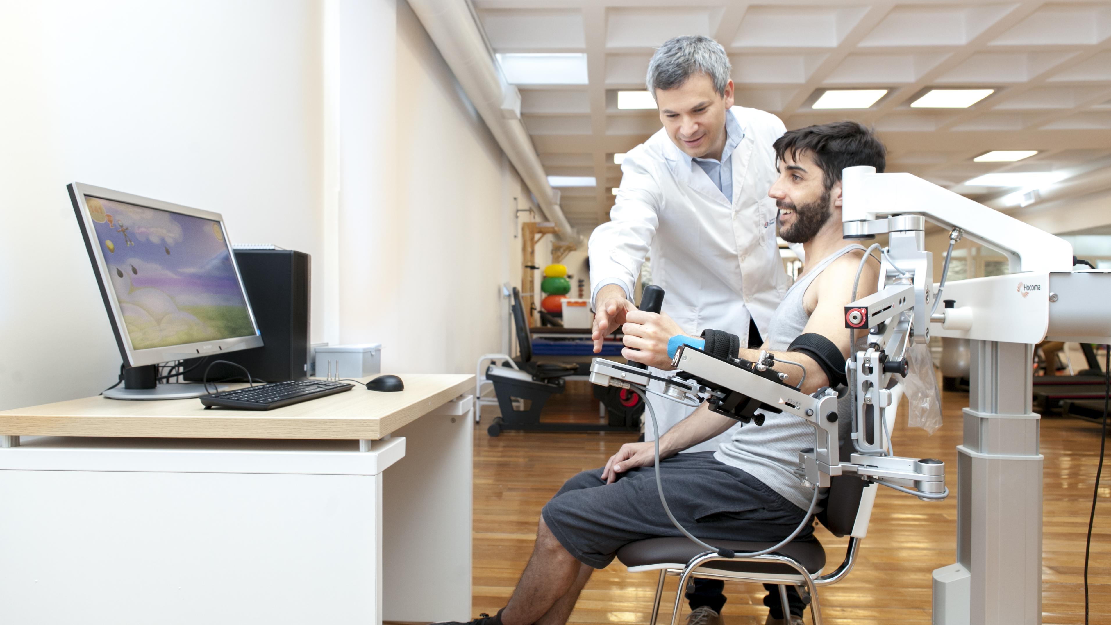 Cómo la robótica está revolucionando la neurorehabilitación de pacientes -  Infobae