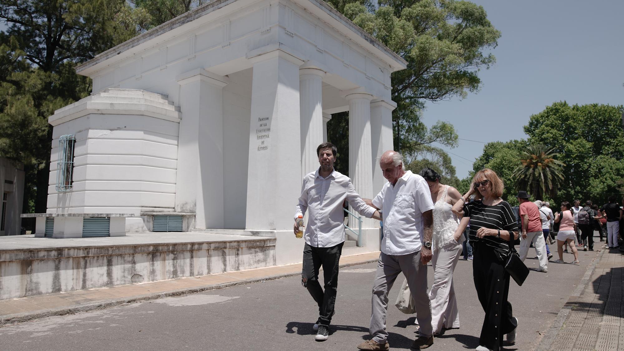 Los restos del capocómico descansan en el Panteón de Actores