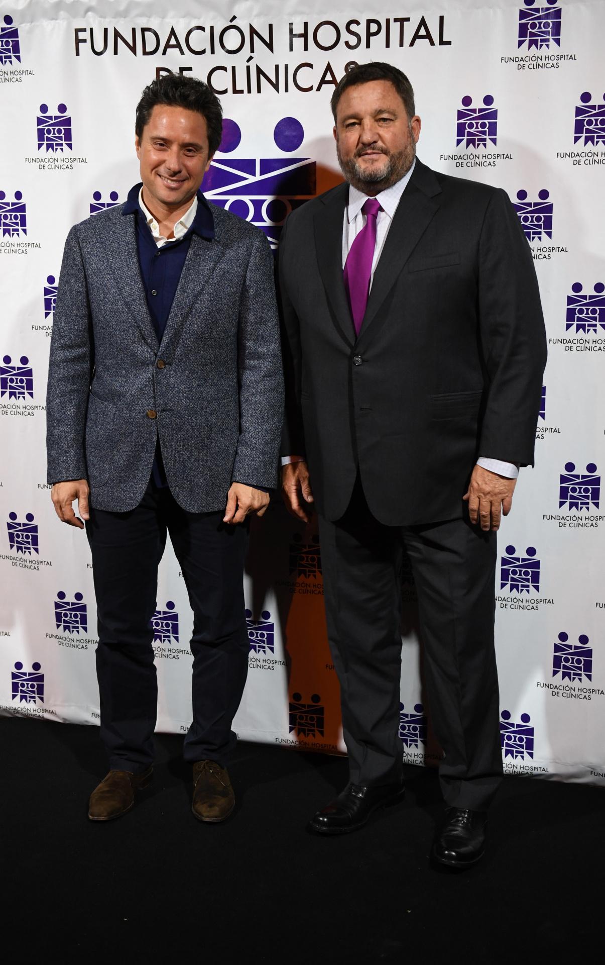 Gabriel Sánchez Zinny, director general de Cultura y Educación de la provincia de Buenos Aires, y Alejandro Macfarlane