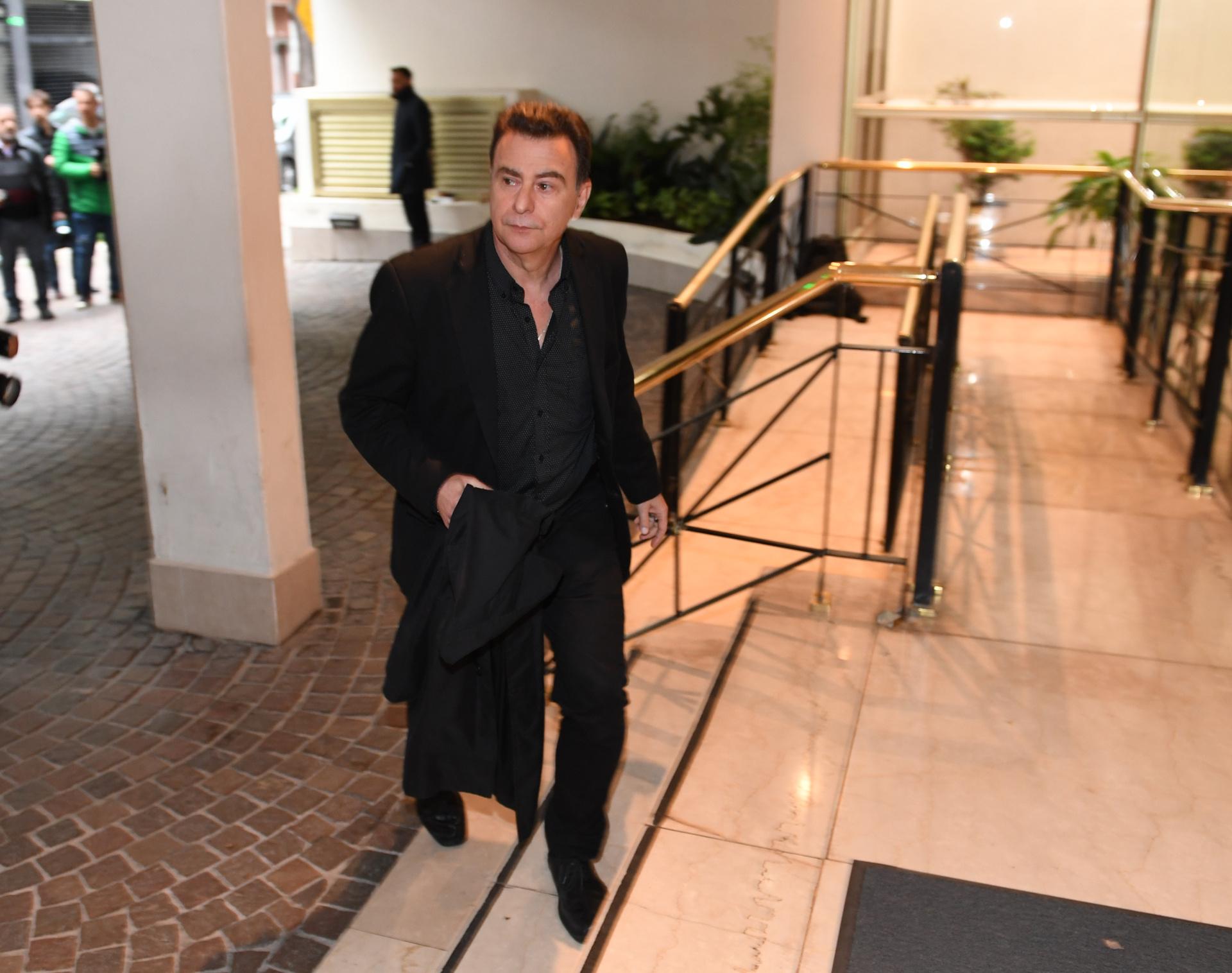 El periodista radial y televisivo Reynaldo Sietecase.