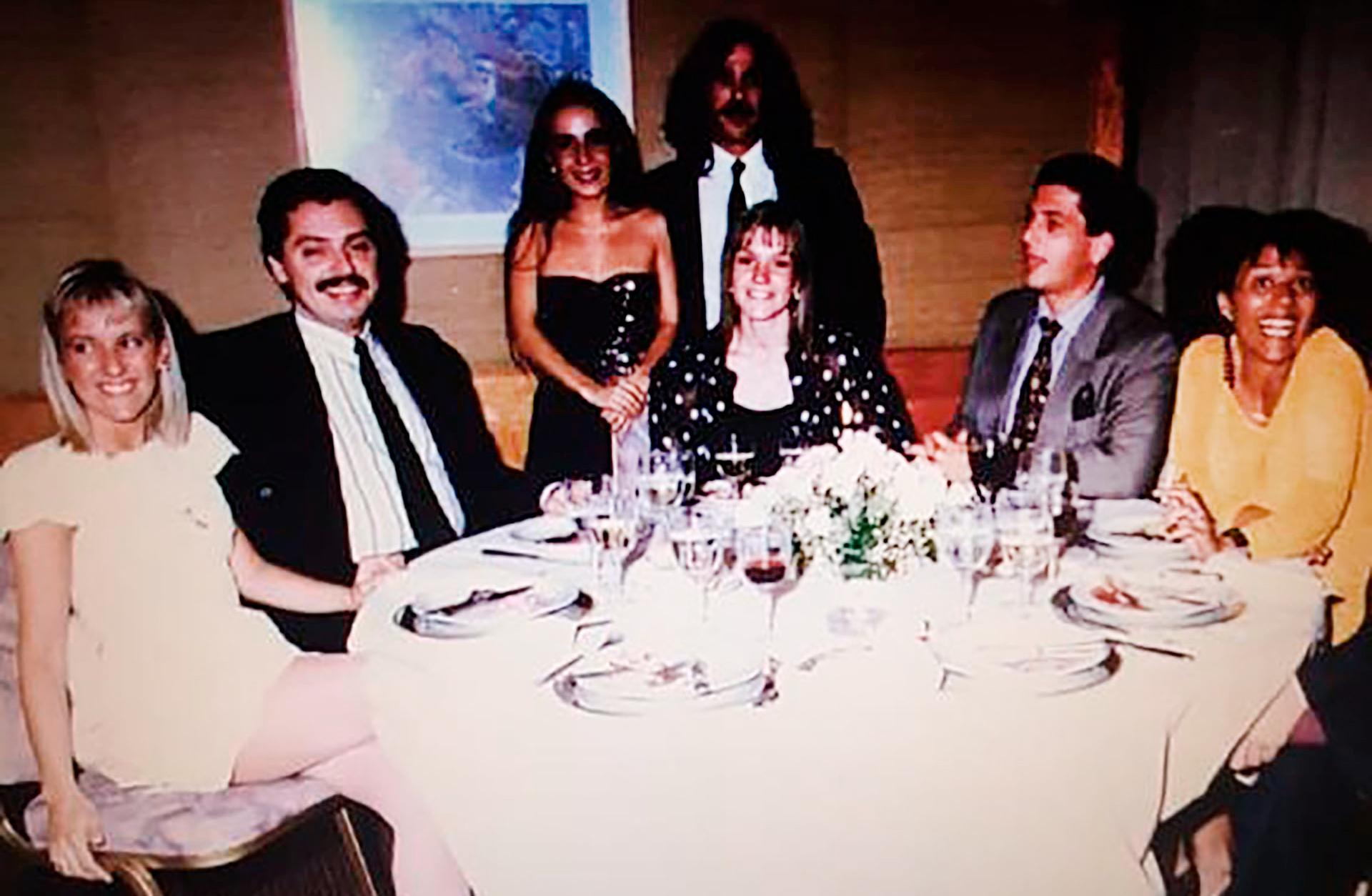 En 1993 se casó con la abogada Marcela Luchetti, madre de su único hijo, Estanislao. El matrimonio duró ocho años.
