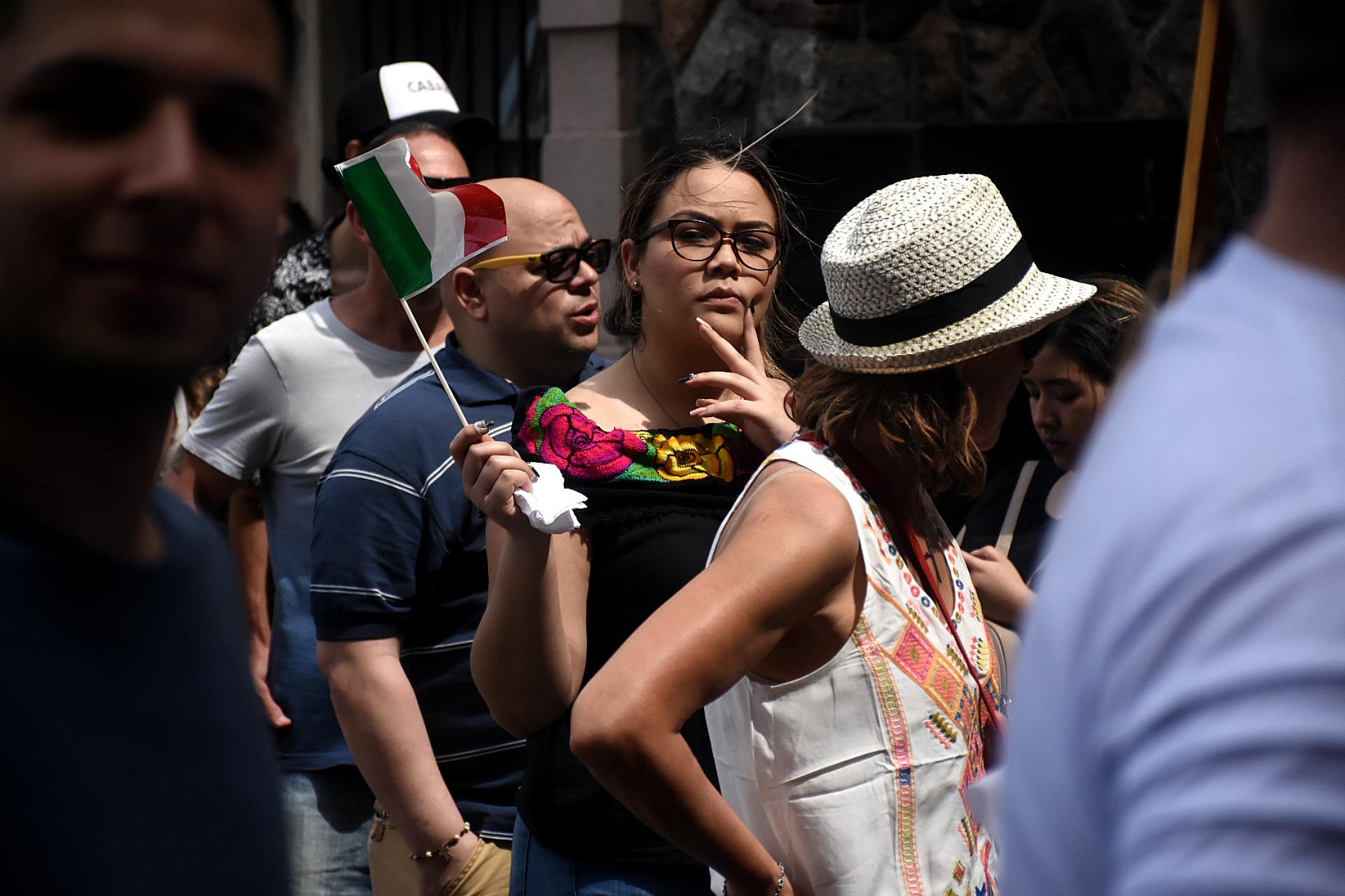 La Usina del Arte se visitó tricolor para festejar las raíces de la cocina italiana durante toda la jornada del domingo