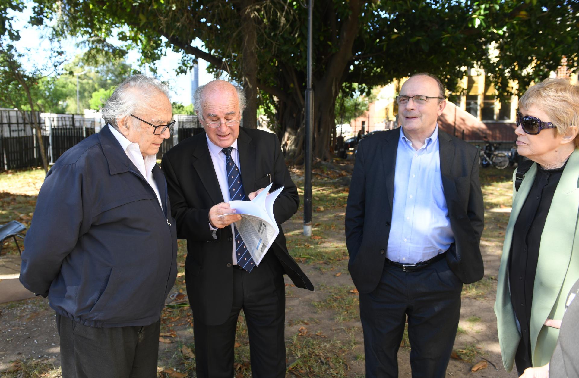 Pérez Esquivel, Parrilli, Moreau y Parodi