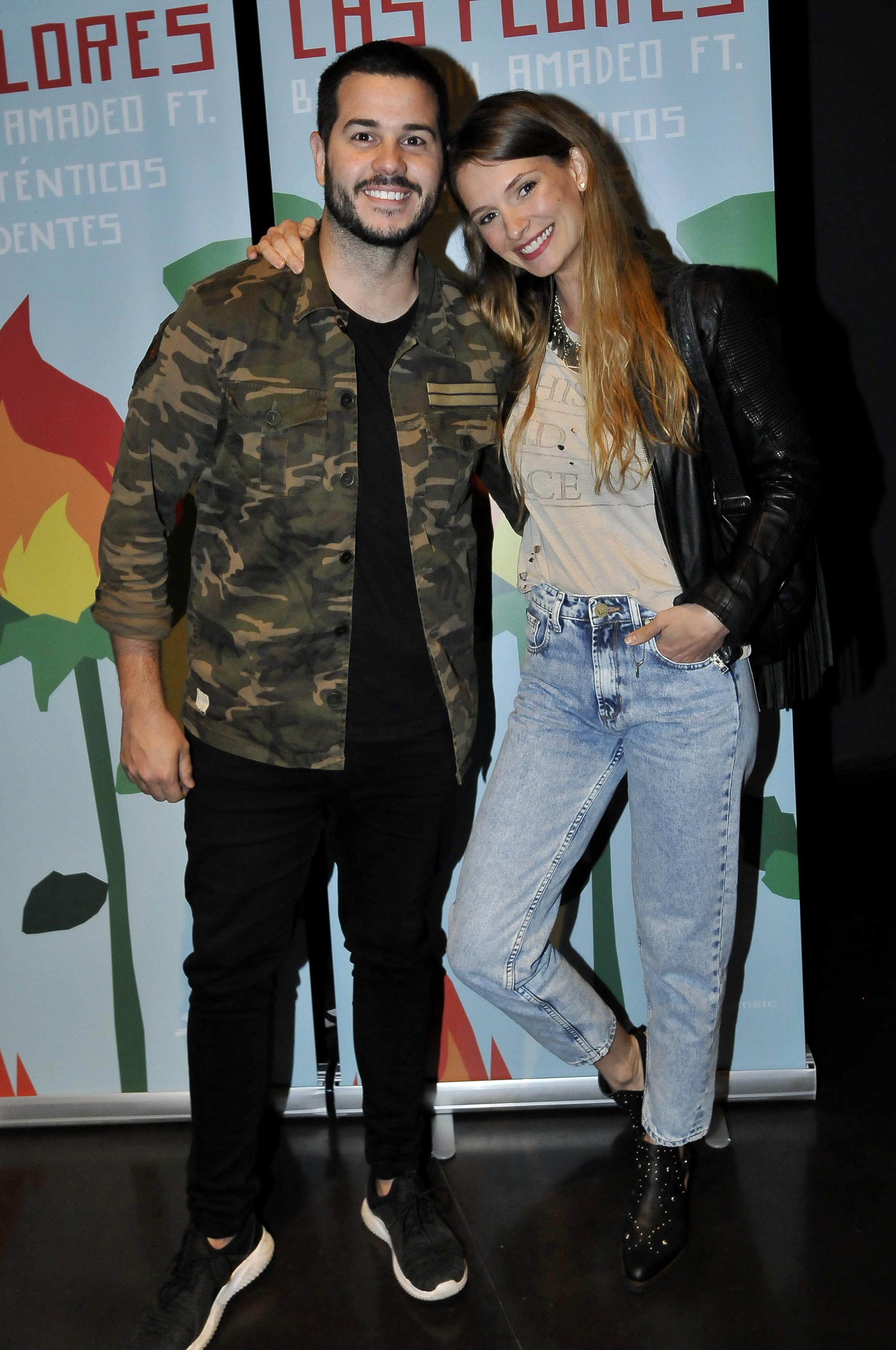 Nico Magaldi y su mujer, Betiana Wolenberg