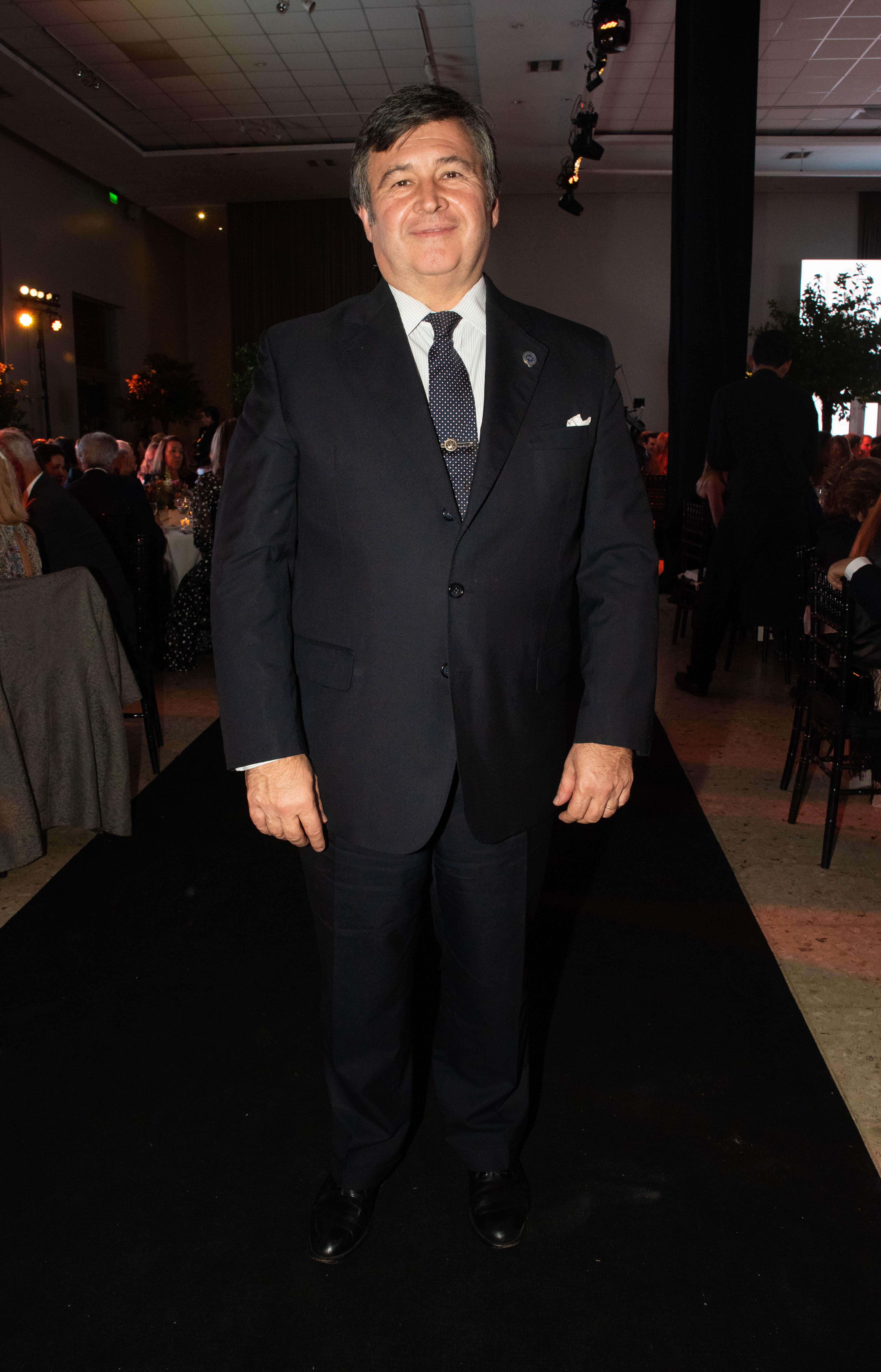 El presidente de la Sociedad Rural Argentina, Daniel Pellegrina