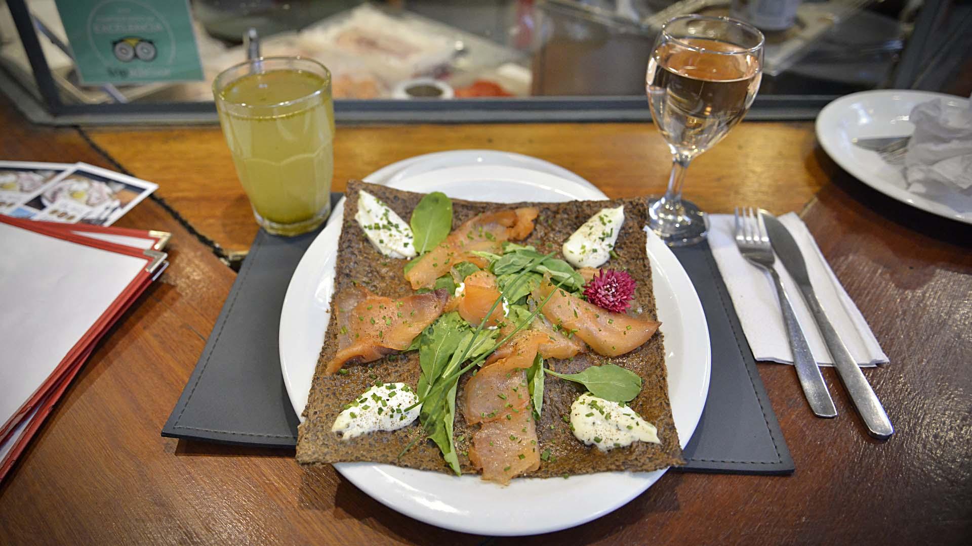 Según Ludovic Casrouge, chef y dueño de la crepería,