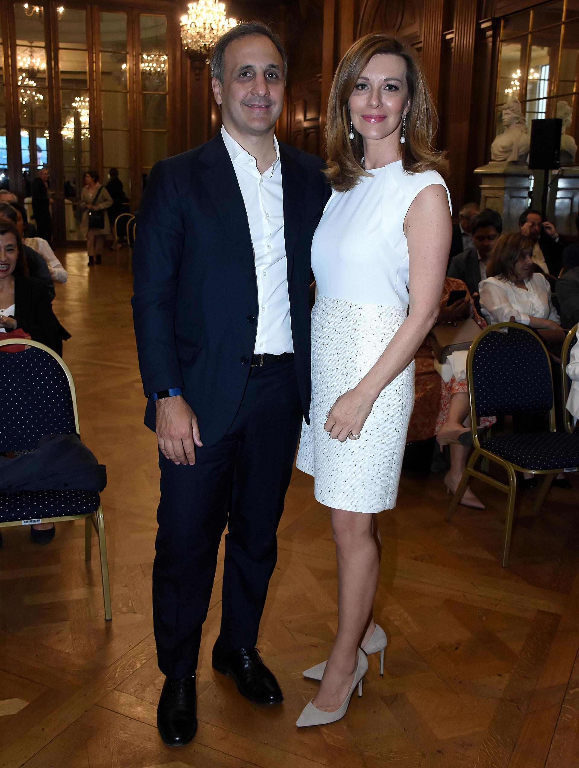Marcos Bulgheroni y Nunzia Locatelli