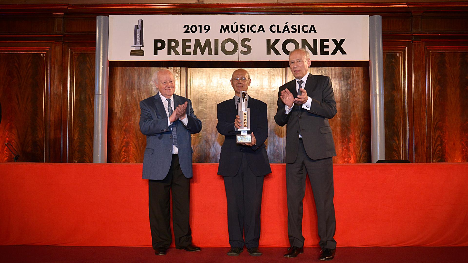 Oscar Araiz, creador del Ballet del Teatro San Martín, obtuvo el máximo galardón, el Premio Konex de Brillante 2019