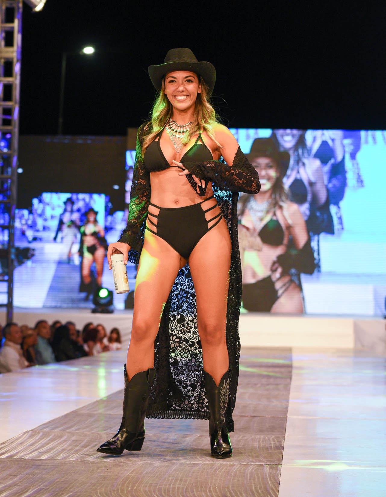 Floppy Tesouro participó de la gran noche de la moda en Pinamar