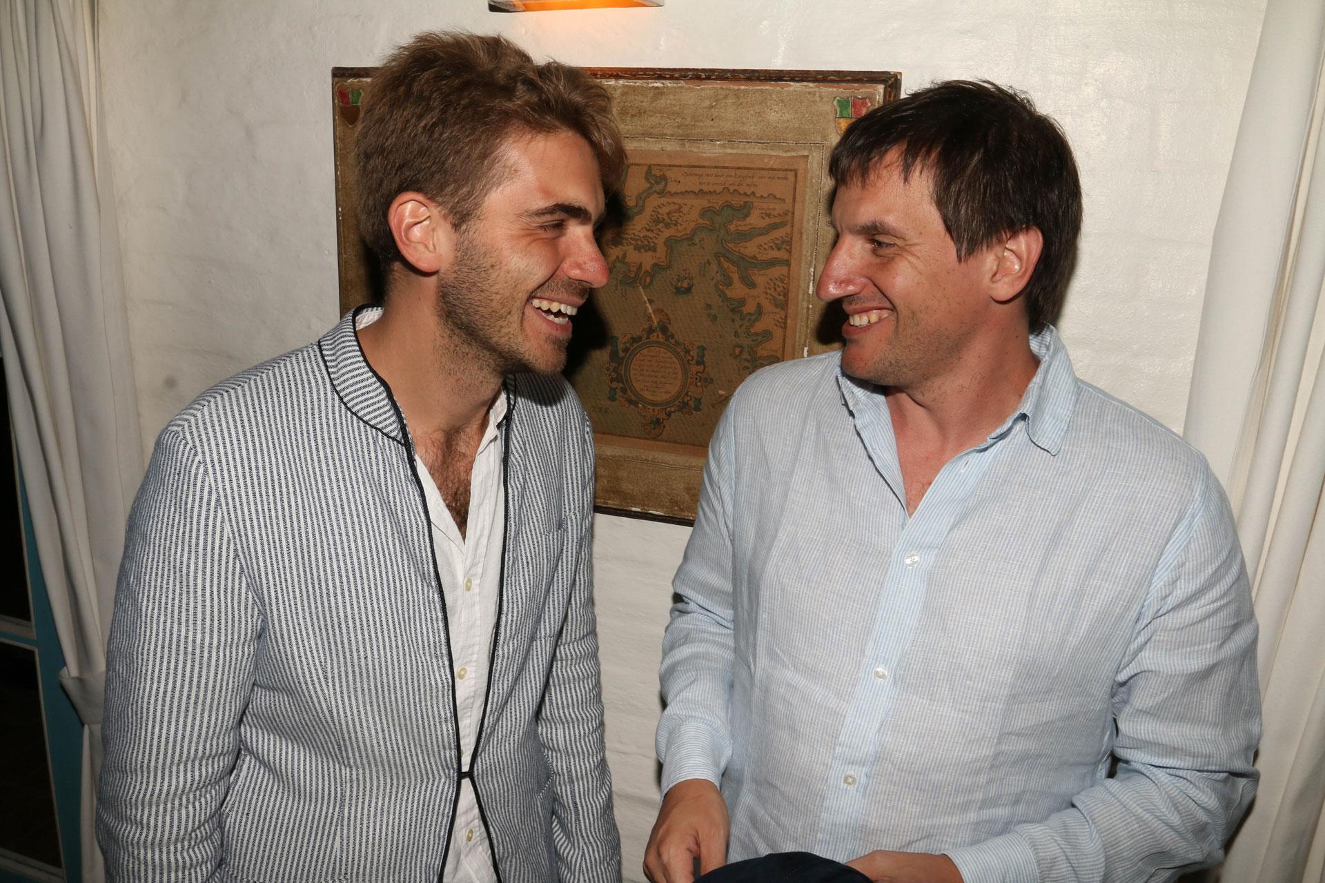 Pierpaolo Barbieri y Alex Milberg