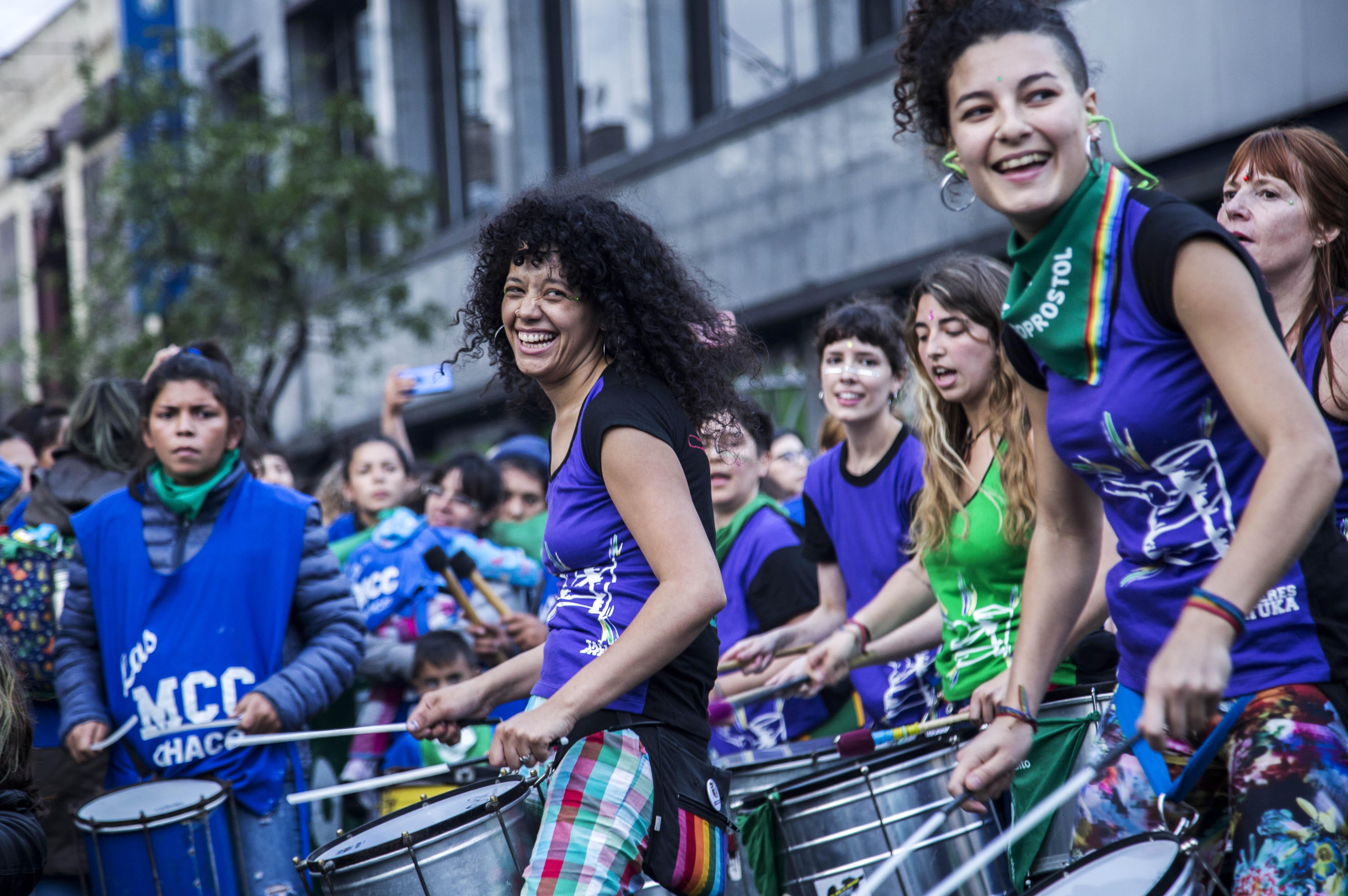 Las marchas son el momento cumbre de los Encuentros Nacionales de Mujeres