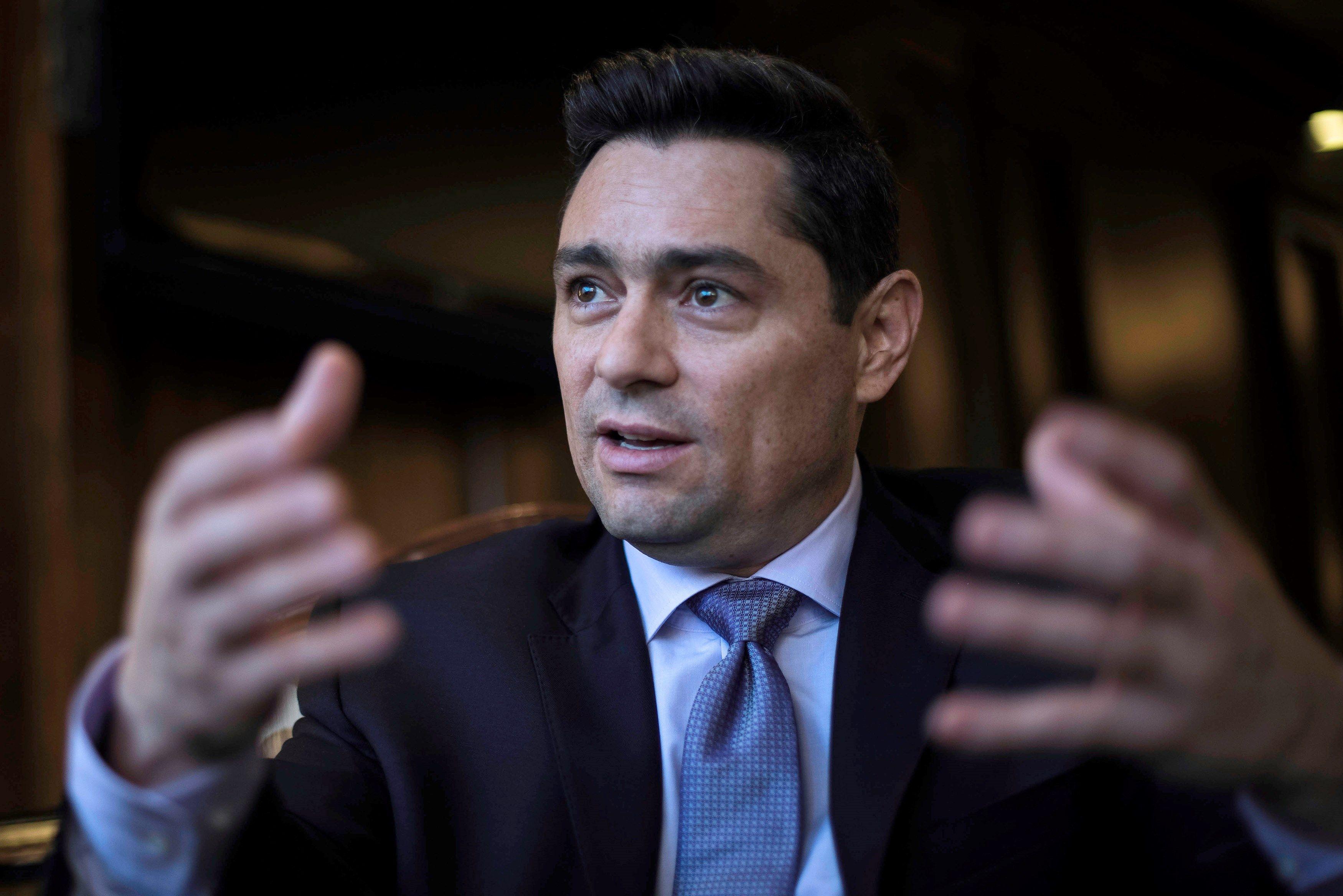 Carlos Vecchio es el encargado de negocios de Venezuela nombrado por Juan Guaidó, presidente interino del país (EFE)