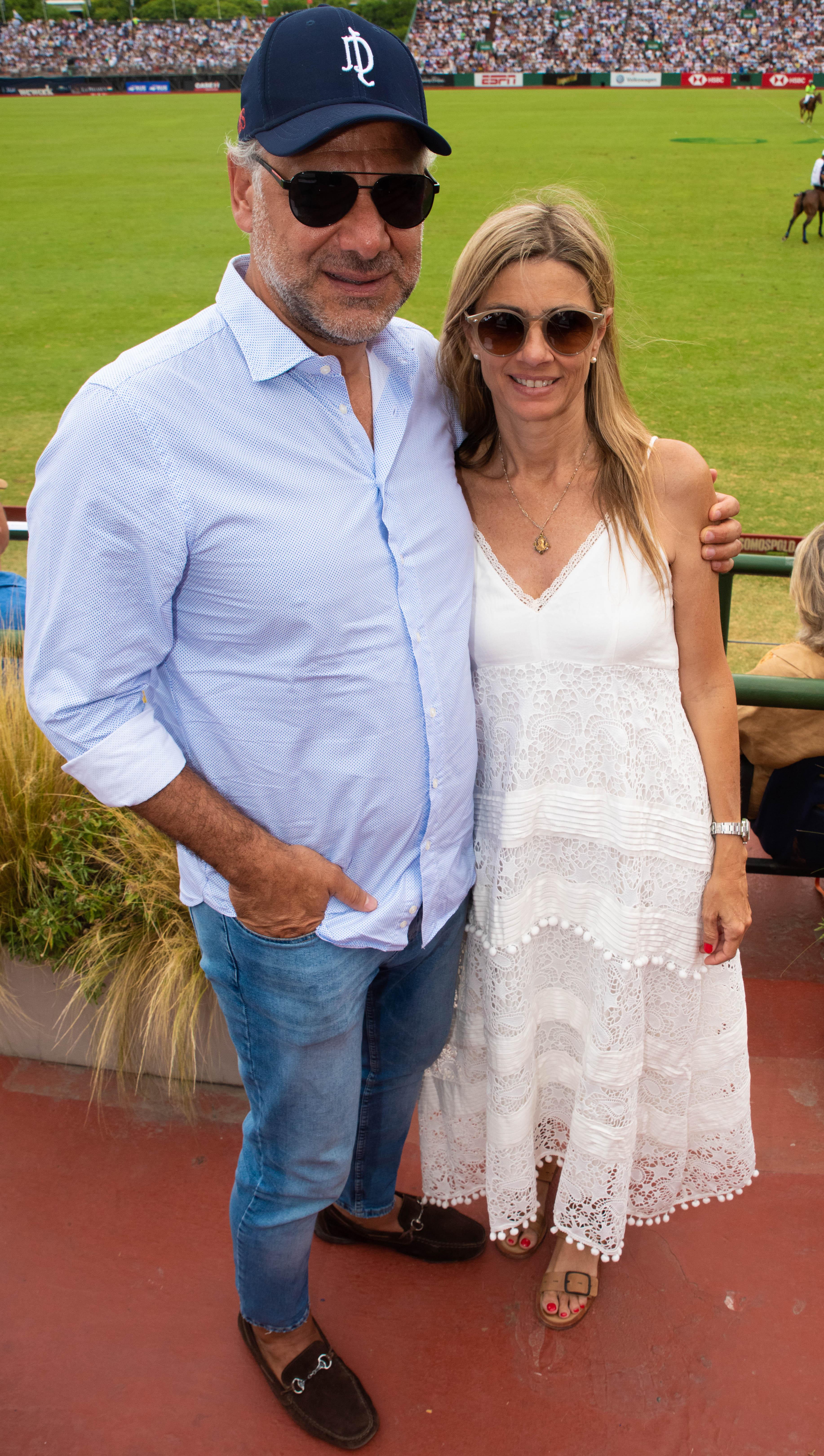 Luis Galli y Angie Reyser