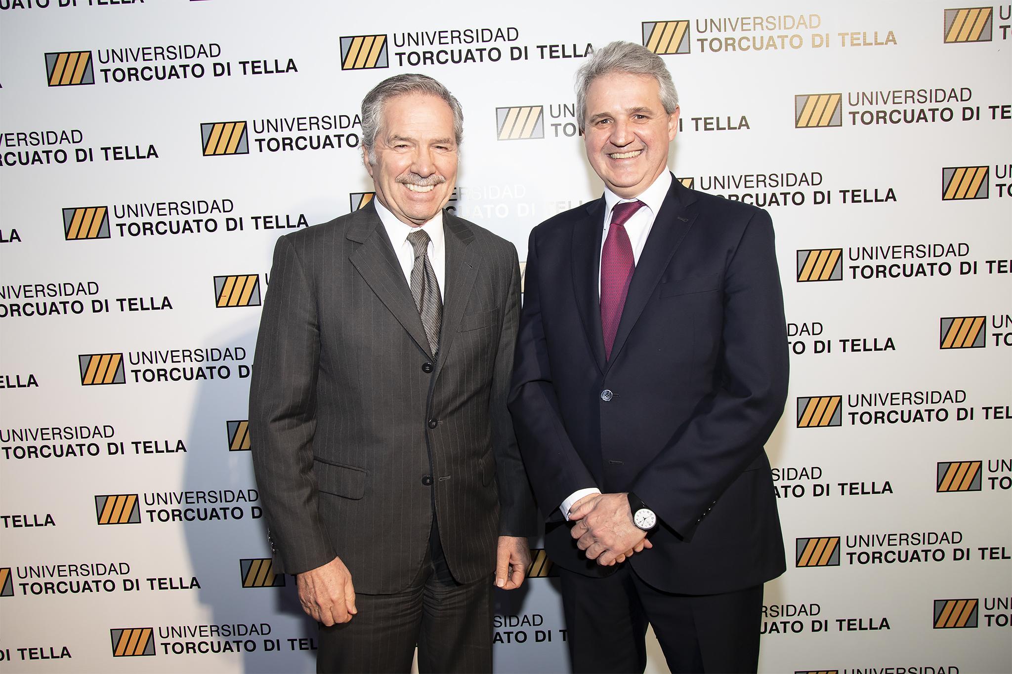 Felipe Solá y Juan José Cruces
