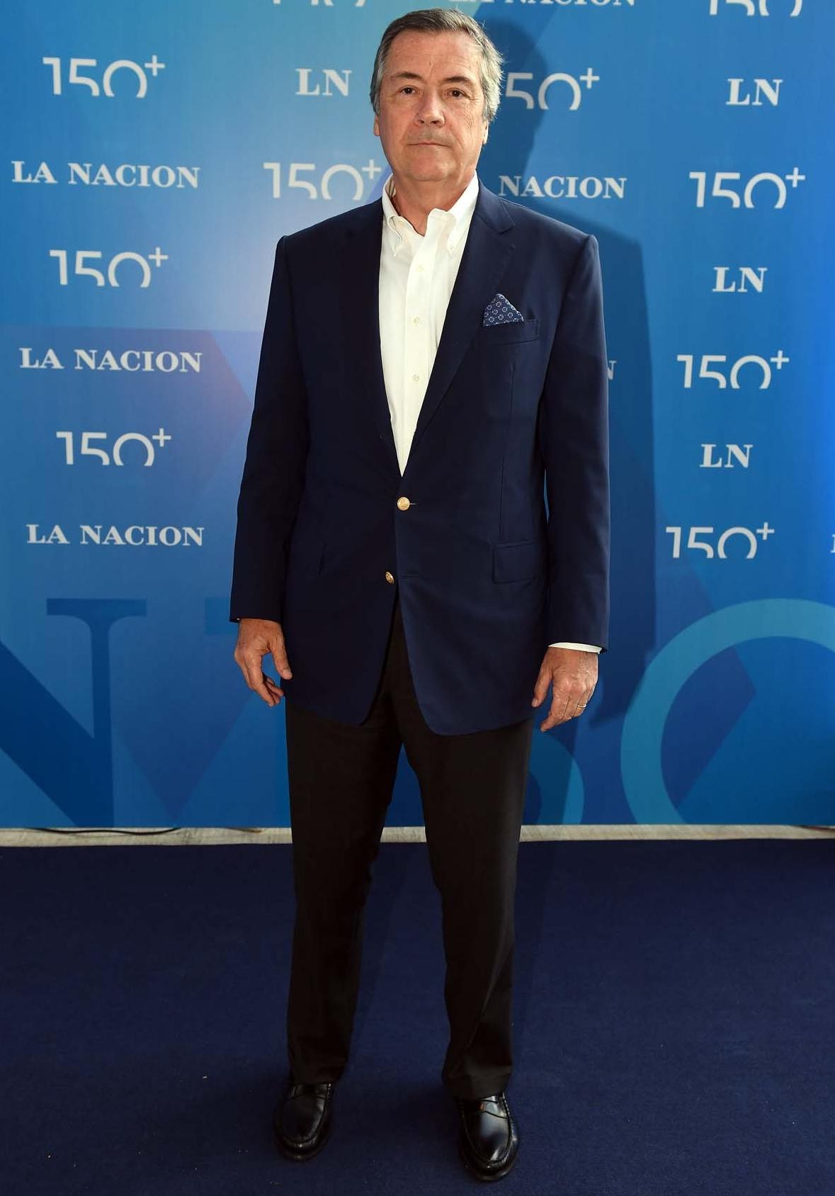 Enrique Cristofani, presidente del Banco Santander