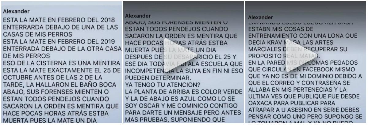 Alexander Anderson era el seudónimo que usó en Facebook y con el que dio la policía para difundir su fotografía de la recompensa por su paradero