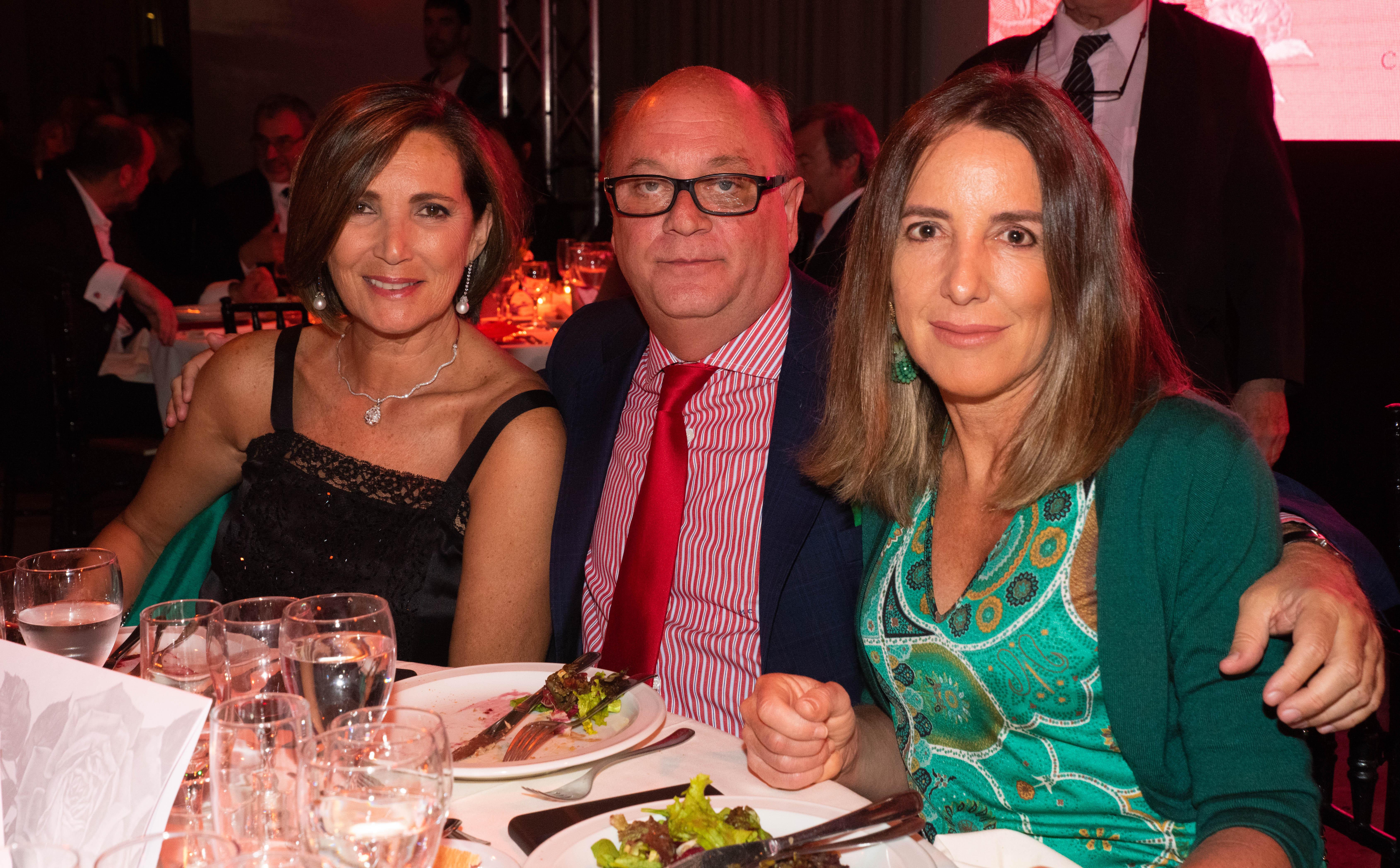 Dora Sánchez, Martín Cabrales y Verónica Zoani de Nutting