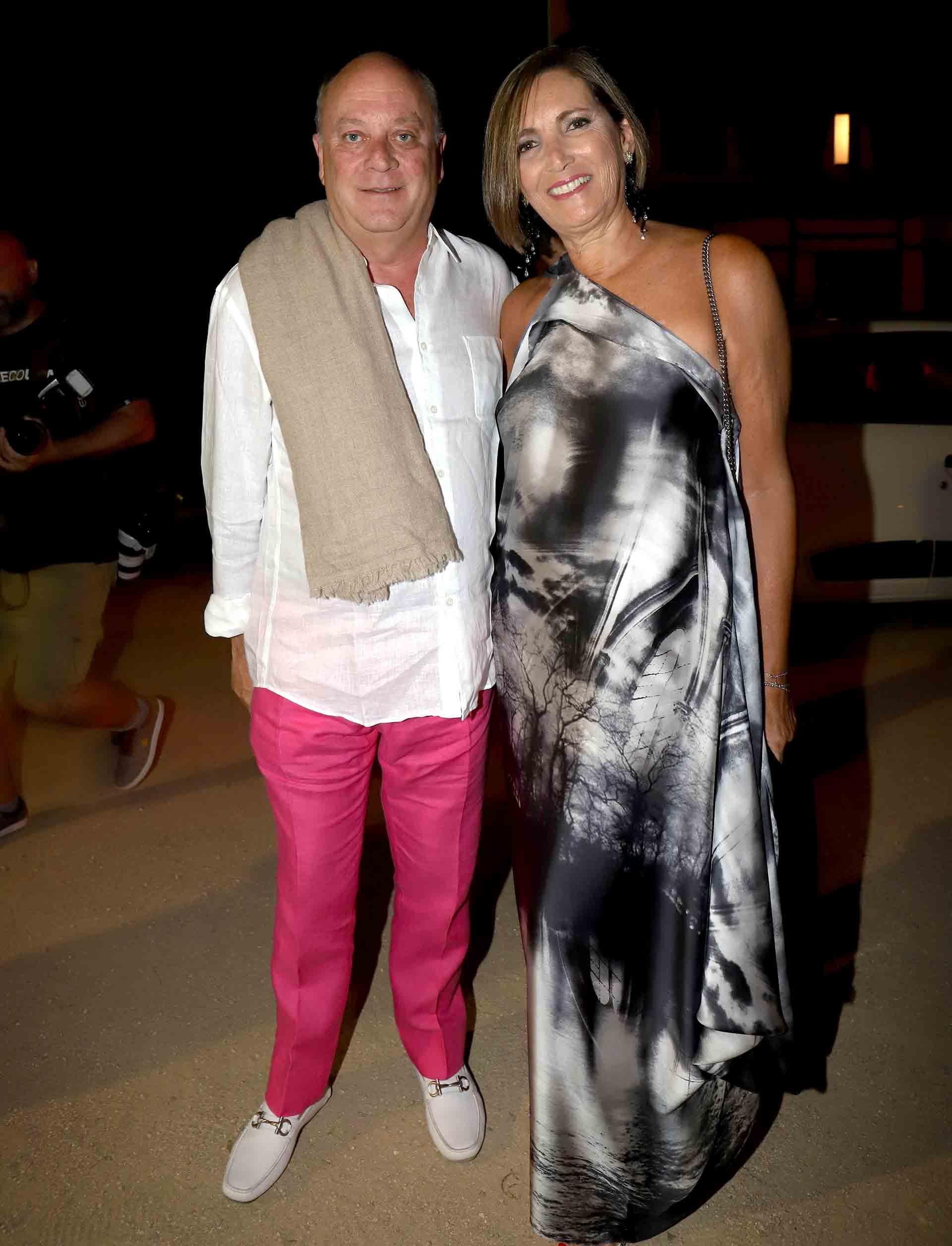 Martín Cabrales y Dora Sánchez