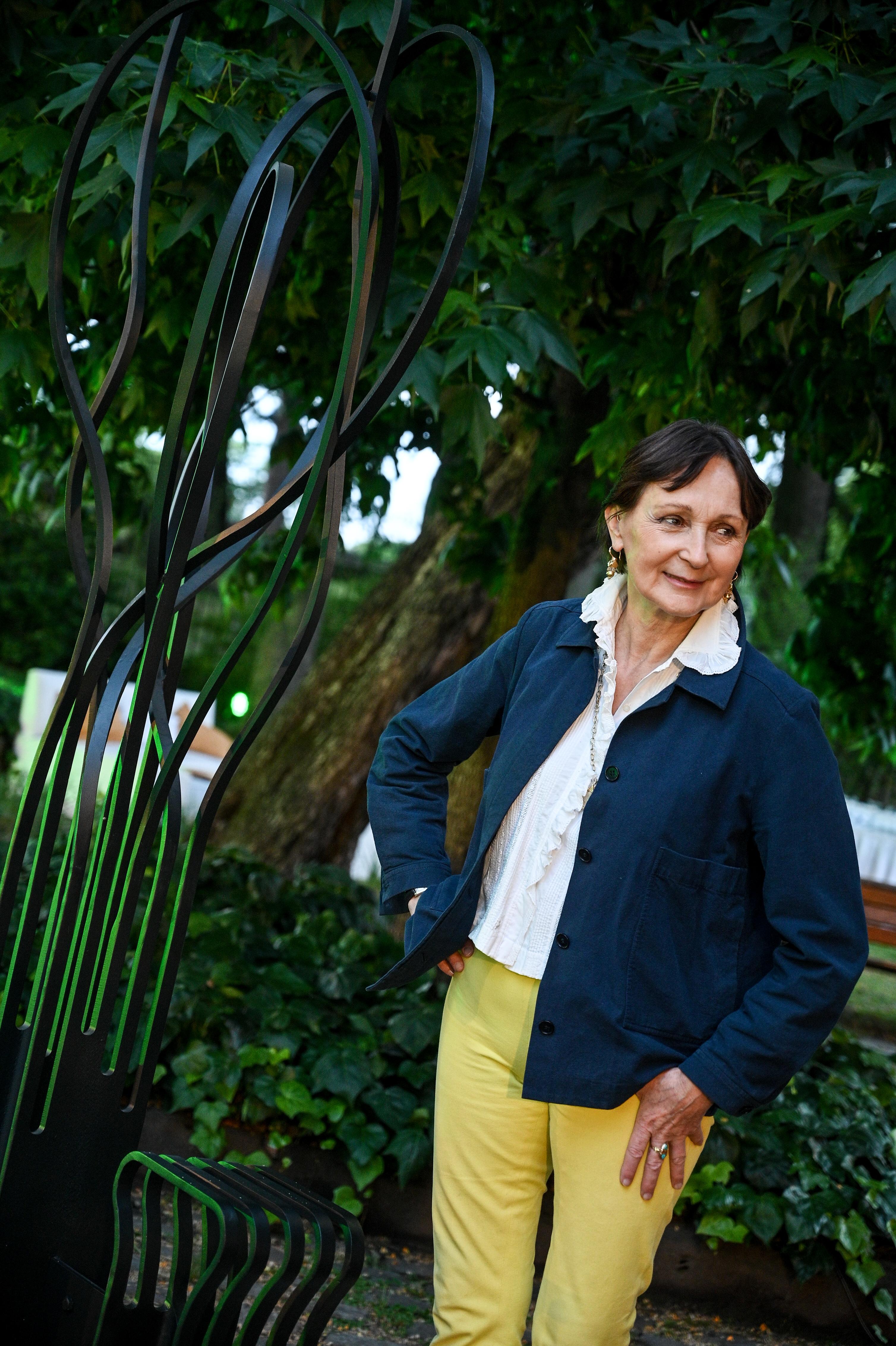 Teresa Anchorena, presidente de la Comisión Nacional de Bienes y Monumentos Históricos Nacionales