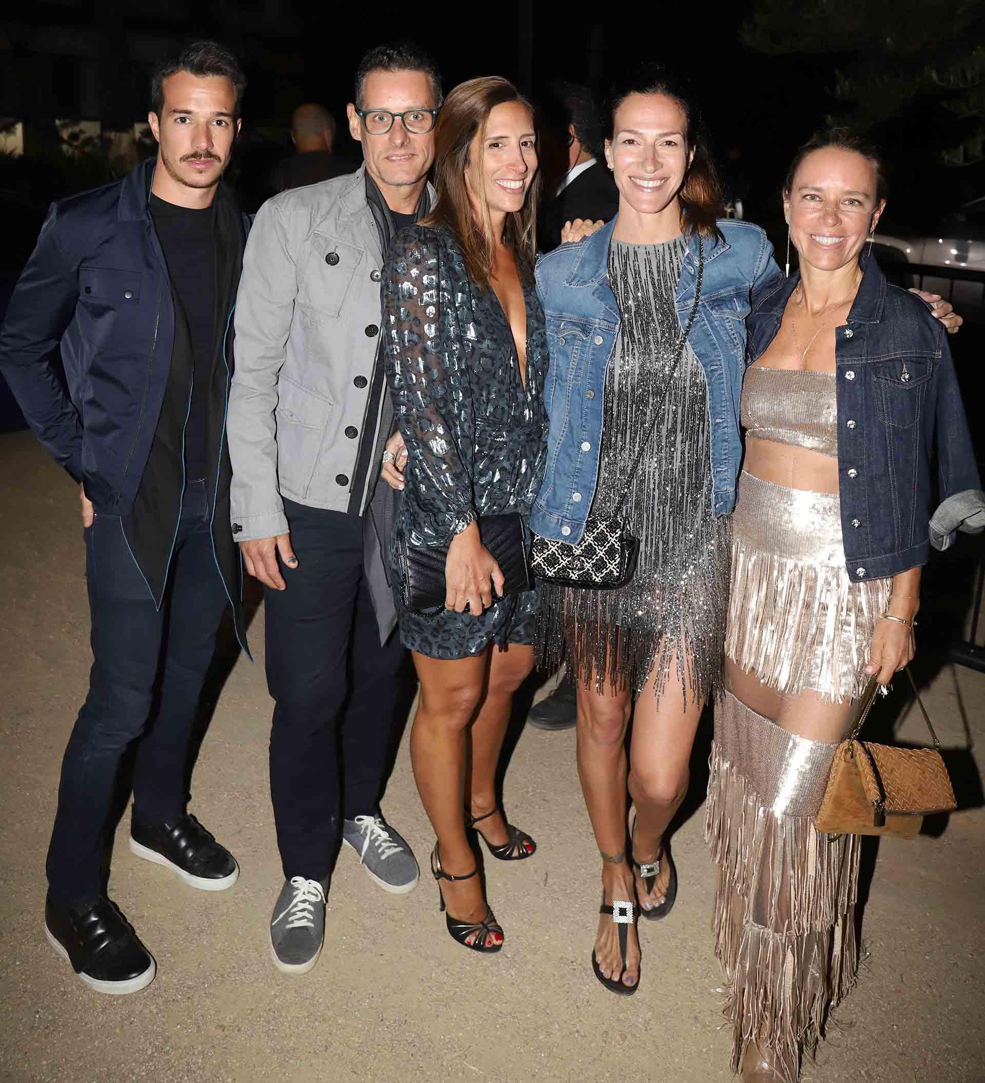 Fabián Bottegal, Florencia Perotti, Dolores Trull y Josie Bridge